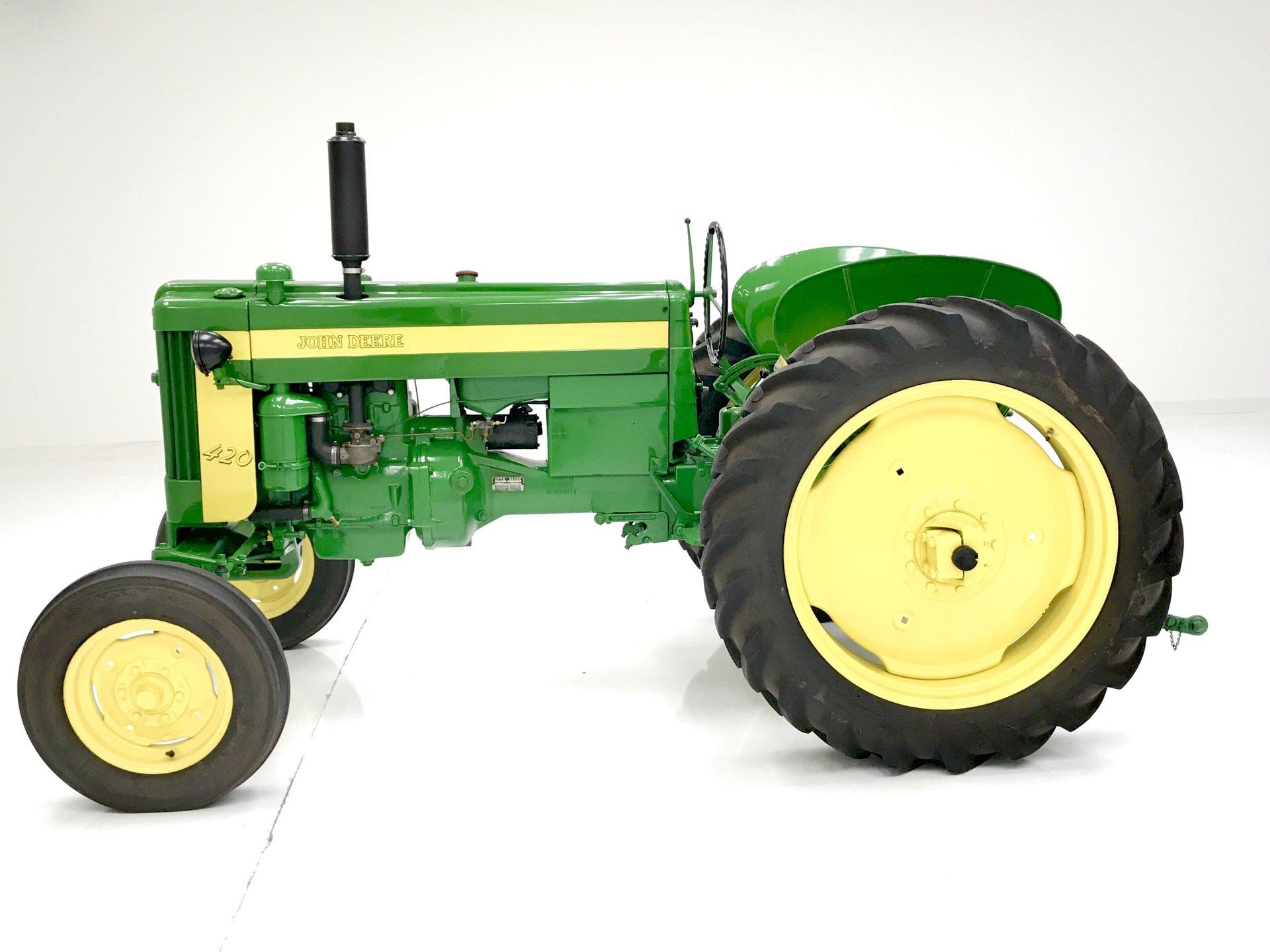 Pristine Auto Sales >> 1956 John Deere 420 W Tractor | Classic Auto Mall