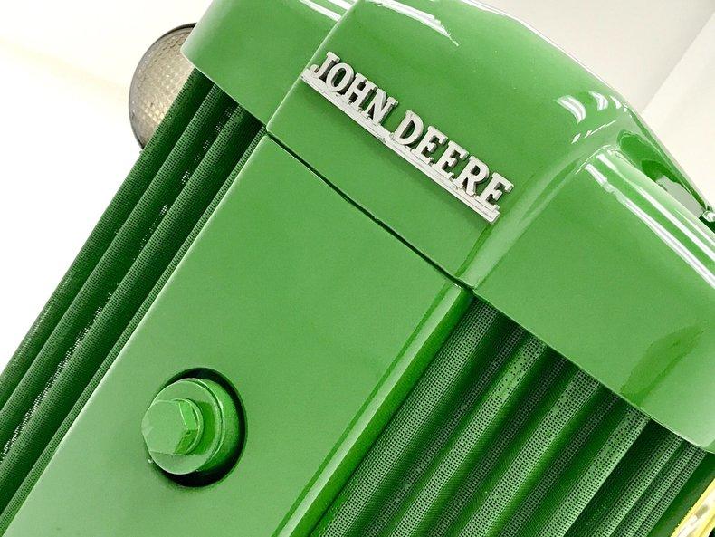 1956 John Deere 420 W Tractor