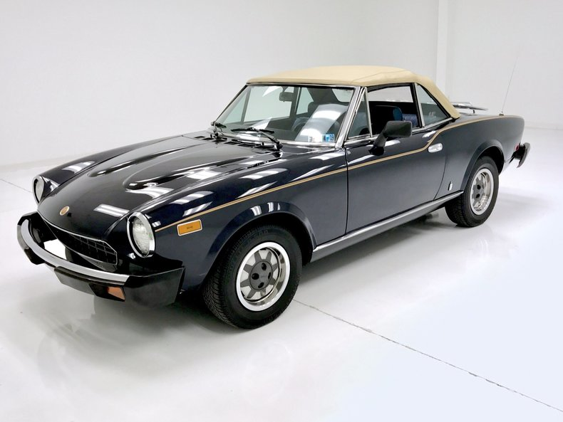 1980 fiat spider 2000 ebay. Black Bedroom Furniture Sets. Home Design Ideas