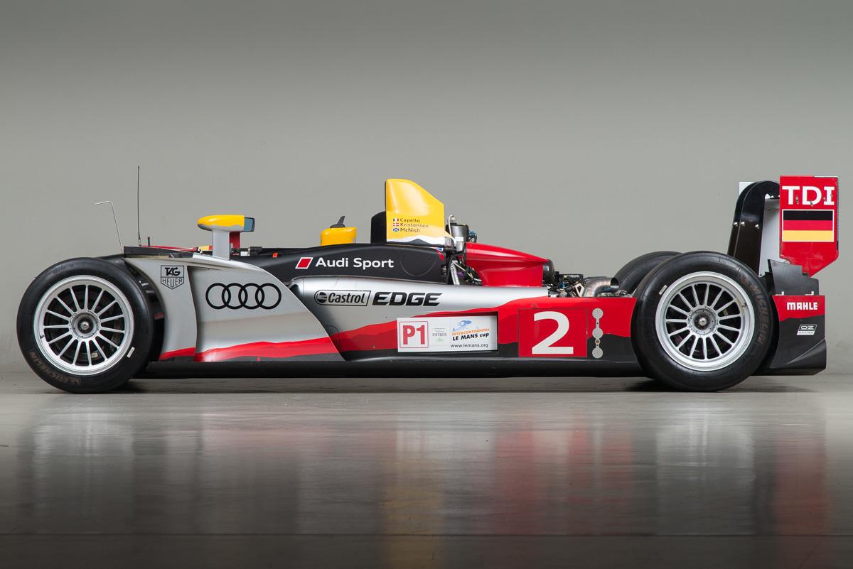2009 Audi R15 , SILVER, VIN R15 T 101