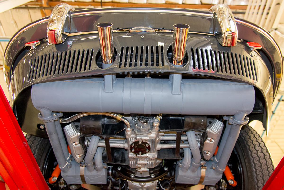 1963 Porsche 356 Carrera 2 Coupe, SLATE GRAY, VIN 120351, MILEAGE 955