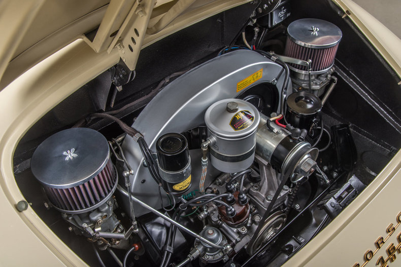 1958 Porsche 356 Speedster Super, IVORY, VIN 84344, MILEAGE 8238