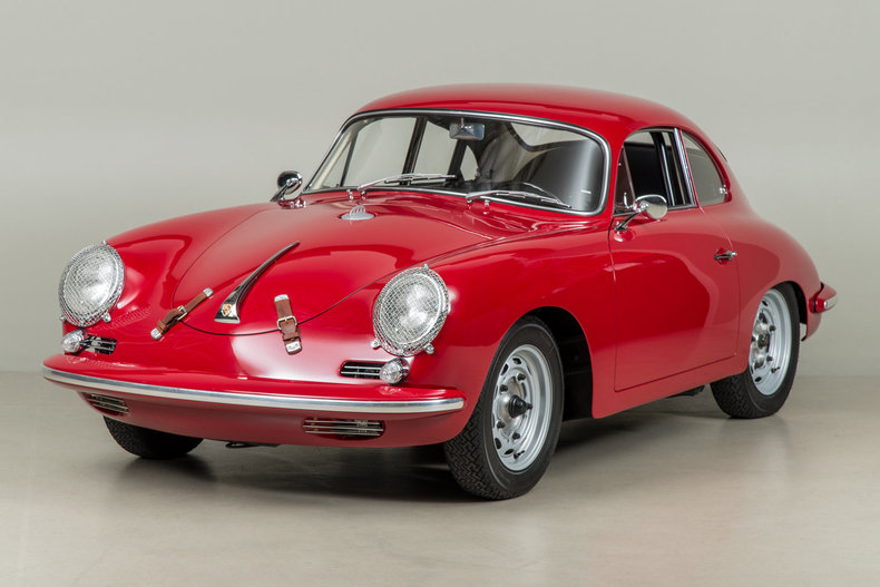 1961 Porsche 356B Coupe Super 90_5743
