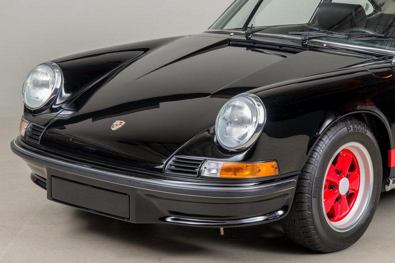 1973 Porsche 911 Carrera RS, BLACK, VIN 9113600488, MILEAGE 35621