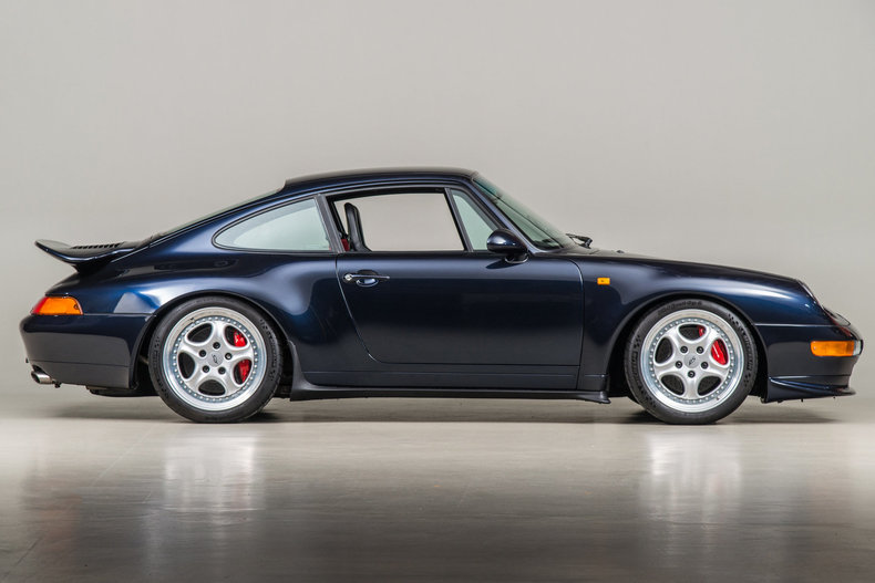 1996 Porsche 993 Carrera RS , MIDNIGHT BLUE, VIN WP0ZZZ99ZTS390067, MILEAGE 32399