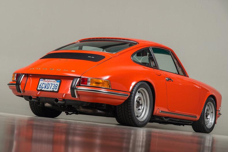 1972 Porsche 911E , TANGERINE, VIN 9112200037, MILEAGE 6882