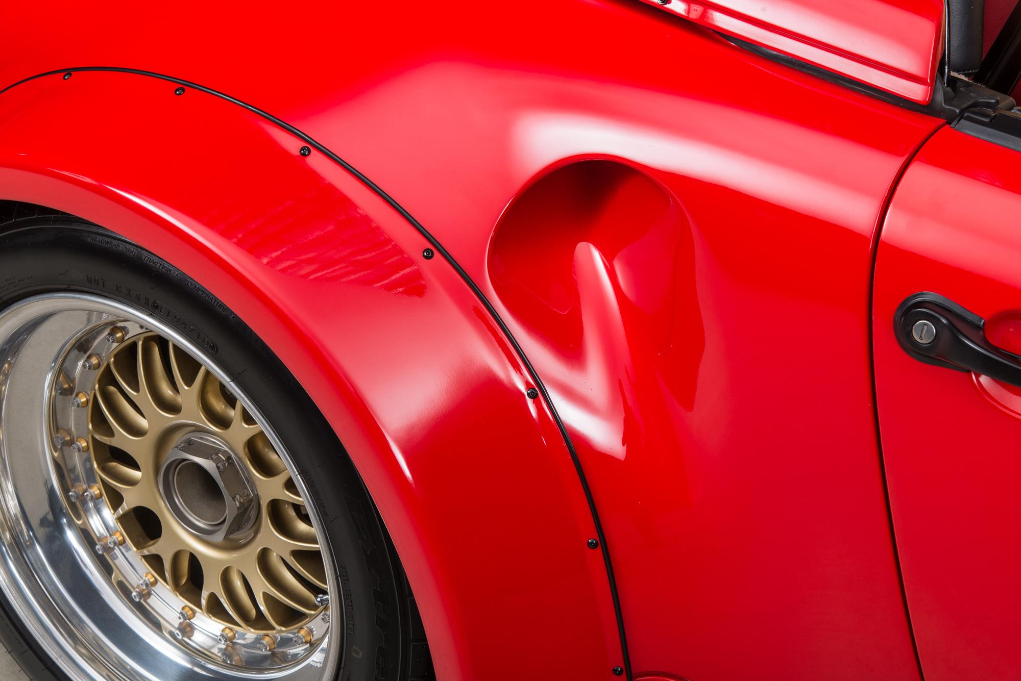 1989 Porsche 962 Twin-Turbo Speedster, GUARDS RED, VIN WP0EB0915KS173533, MILEAGE 3035