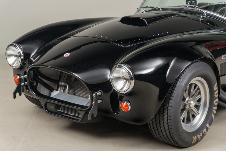 Shelby Cobra 427 , BLACK, VIN CSX4206, MILEAGE 8449