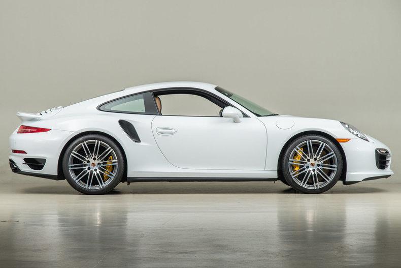 2015 Porsche 911 Turbo S, WHITE, VIN WP0AD2A92FS160220, MILEAGE 14113