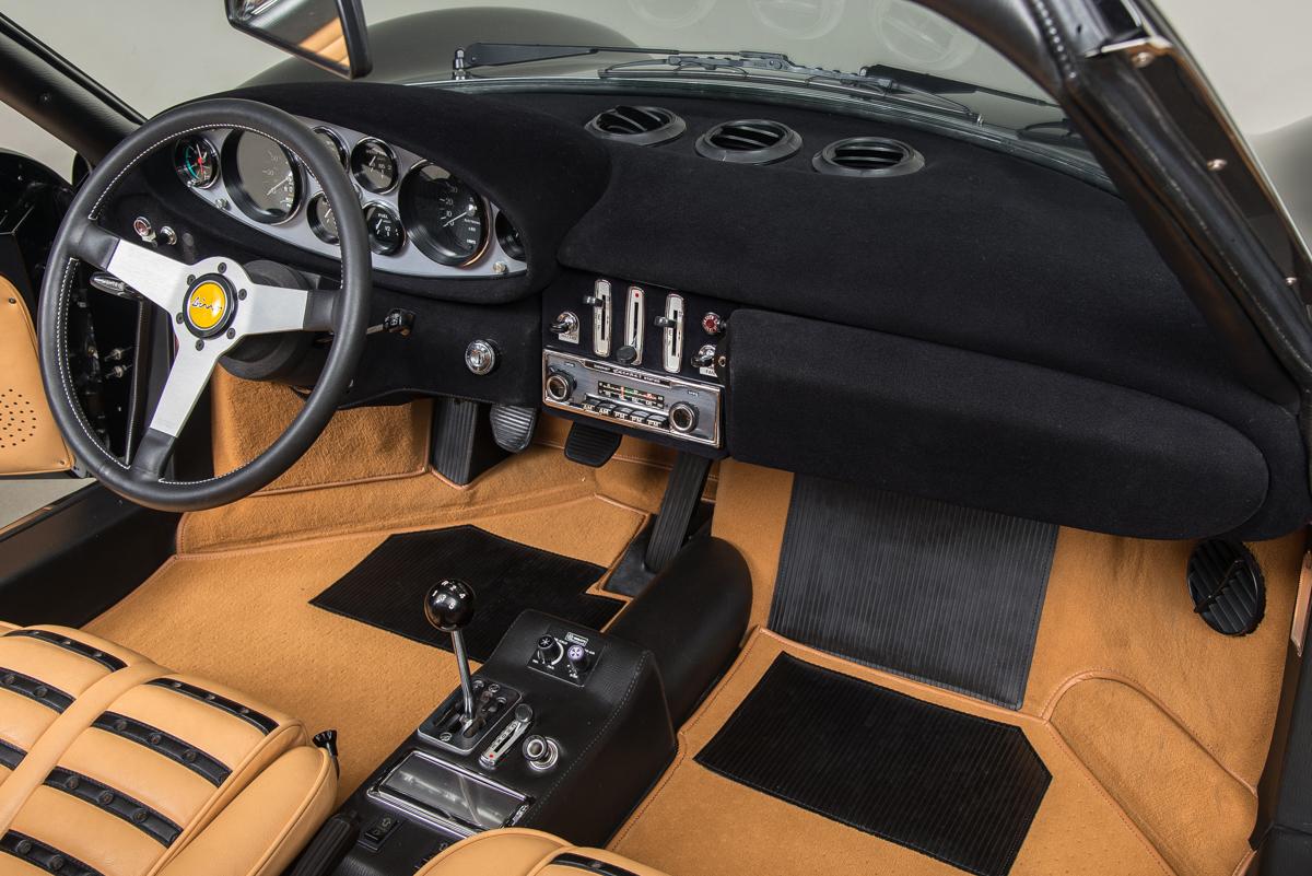 1974 Dino 246 GTS , BLACK, VIN 08480, MILEAGE 21770