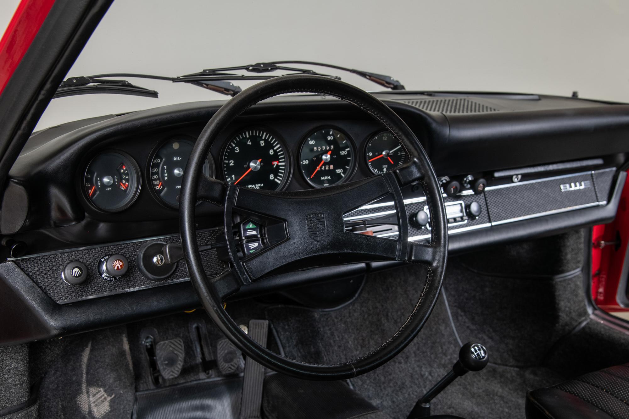 1969 Porsche 911E Targa , RED, VIN 119210805, MILEAGE 85926