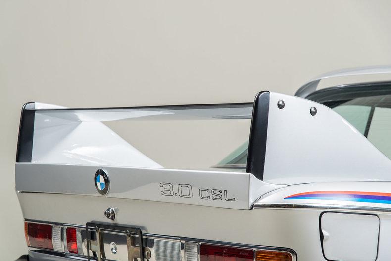 1974 BMW 3.0 CSL , SILVER, VIN 2275477, MILEAGE 23882
