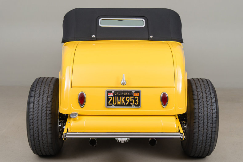 1932 Ford Roadster Hot Rod , YELLOW, VIN 18367921, MILEAGE 5681