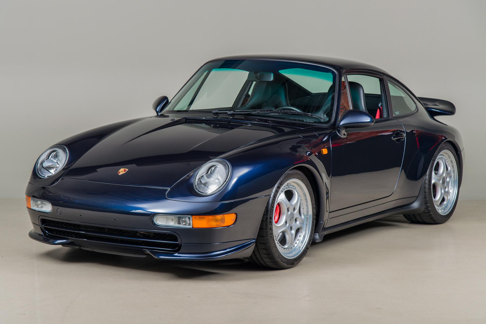 1996 Porsche 911 Carrera RS, MIDNIGHT BLUE, VIN WP0ZZZ99ZTS390067, MILEAGE 32444