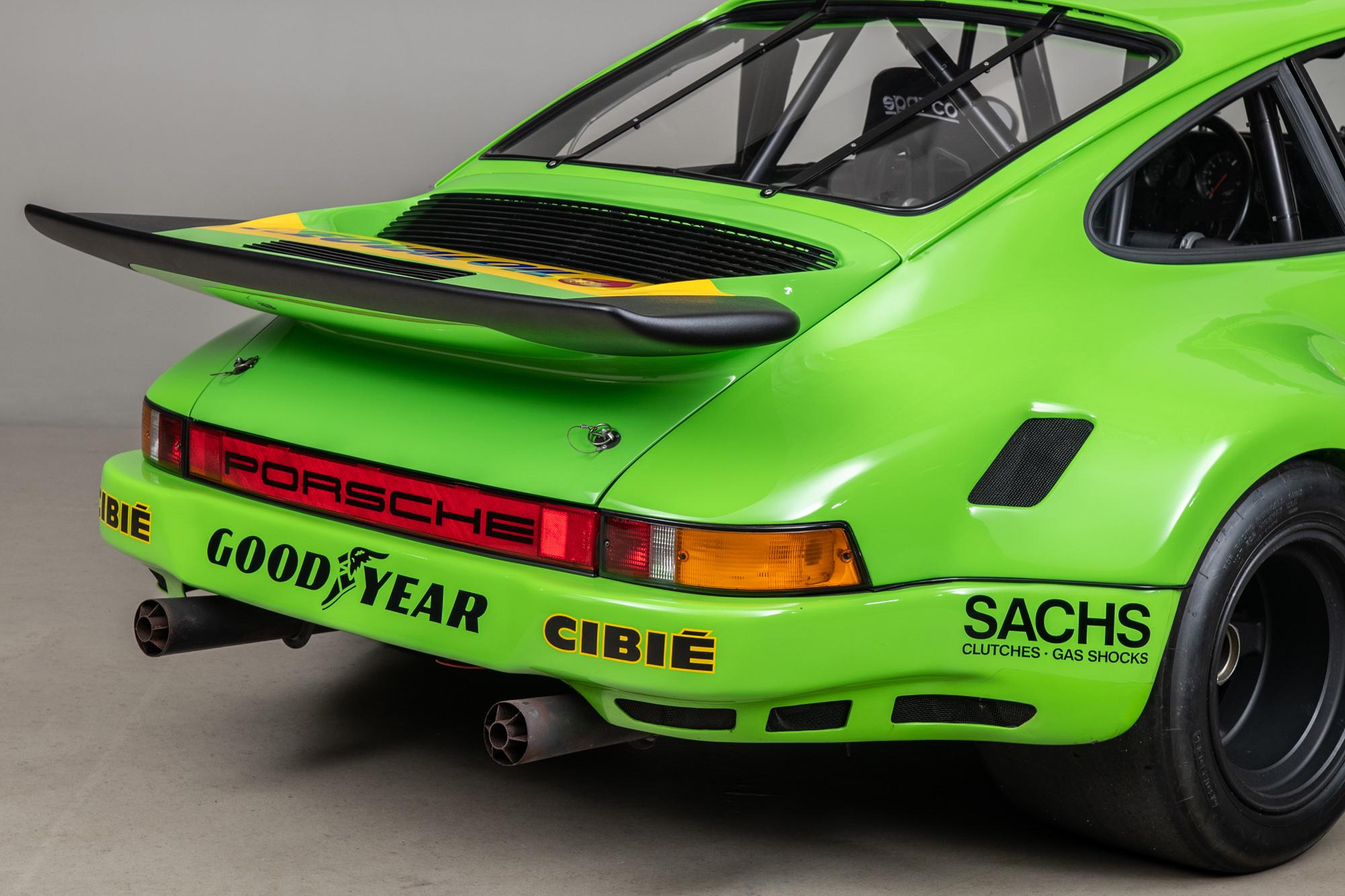 1974 Porsche 911 RSR , KELLY GREEN, VIN 9114609053, MILEAGE 62974