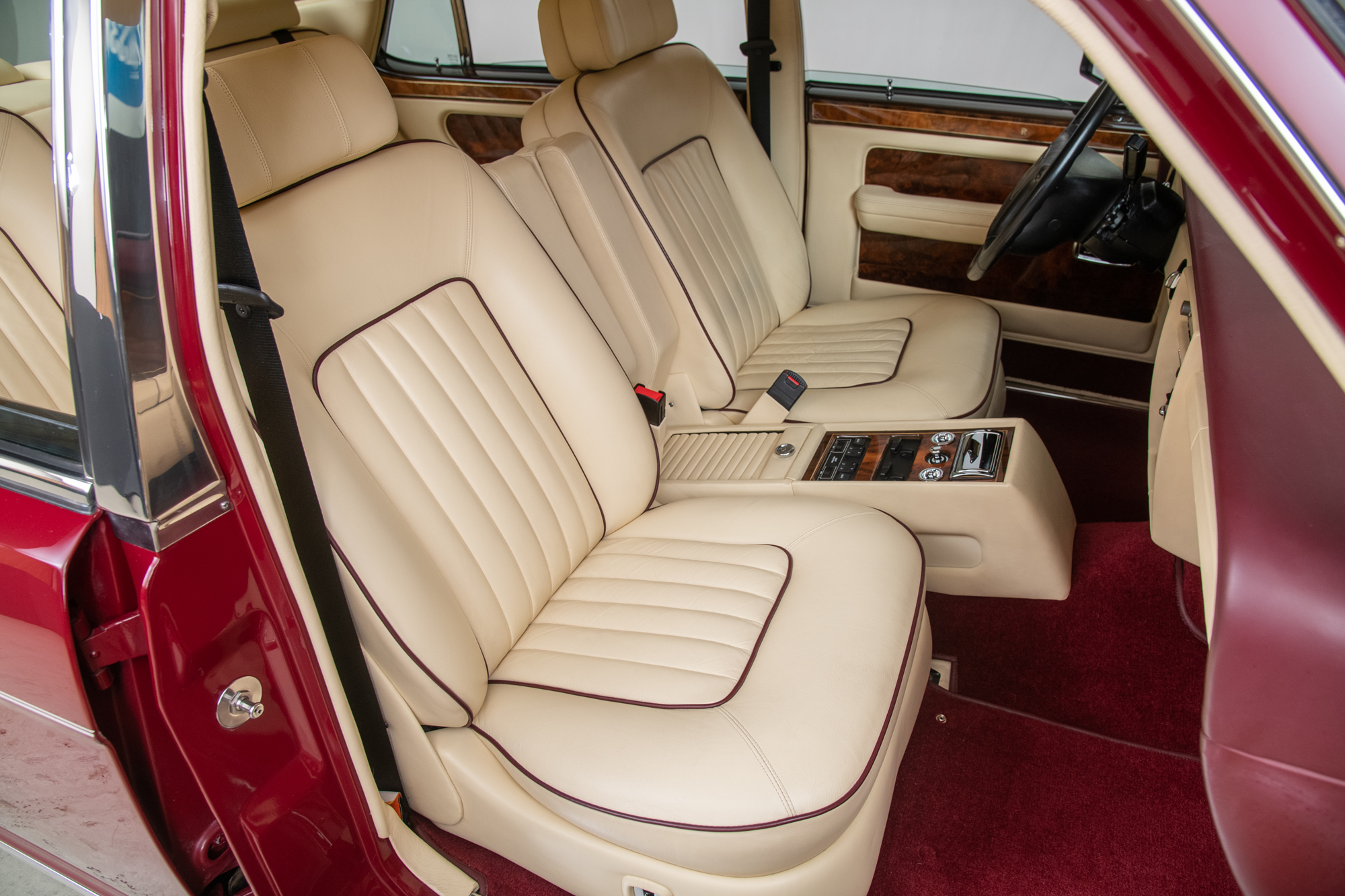 1990 Rolls-Royce Silver Spur II , BORDEAUX RED, VIN SCAZN02D9LCX32968, MILEAGE 22877