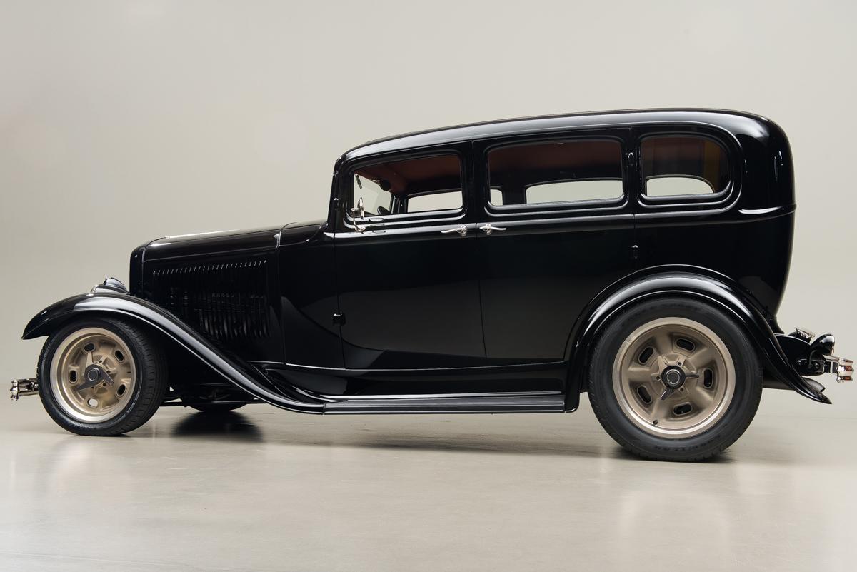 1932 Ford Fordor , BLACK, VIN 1845907