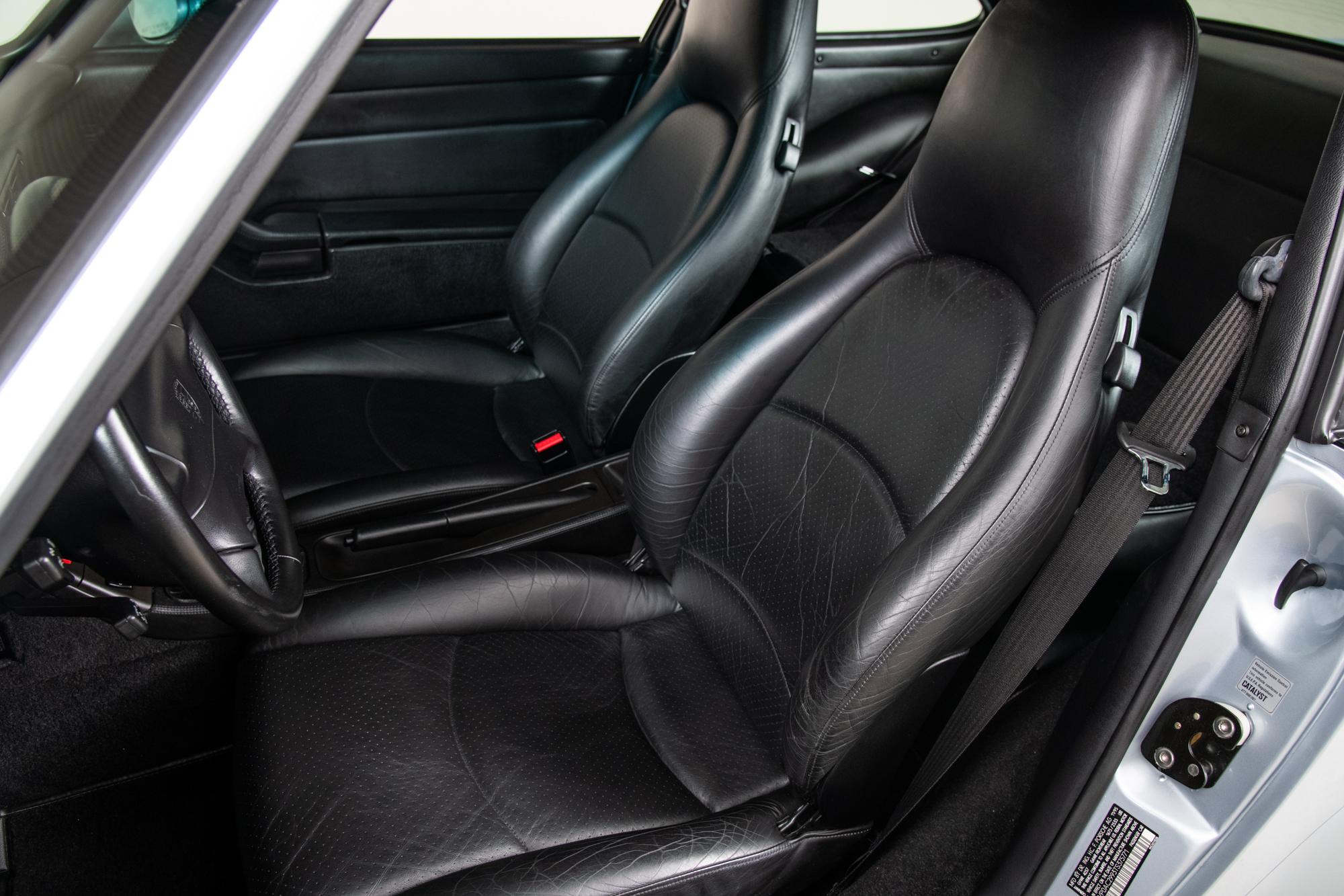 1996 Porsche 911 Turbo , POLAR SILVER, VIN WP0AC2993TS375771, MILEAGE 22779