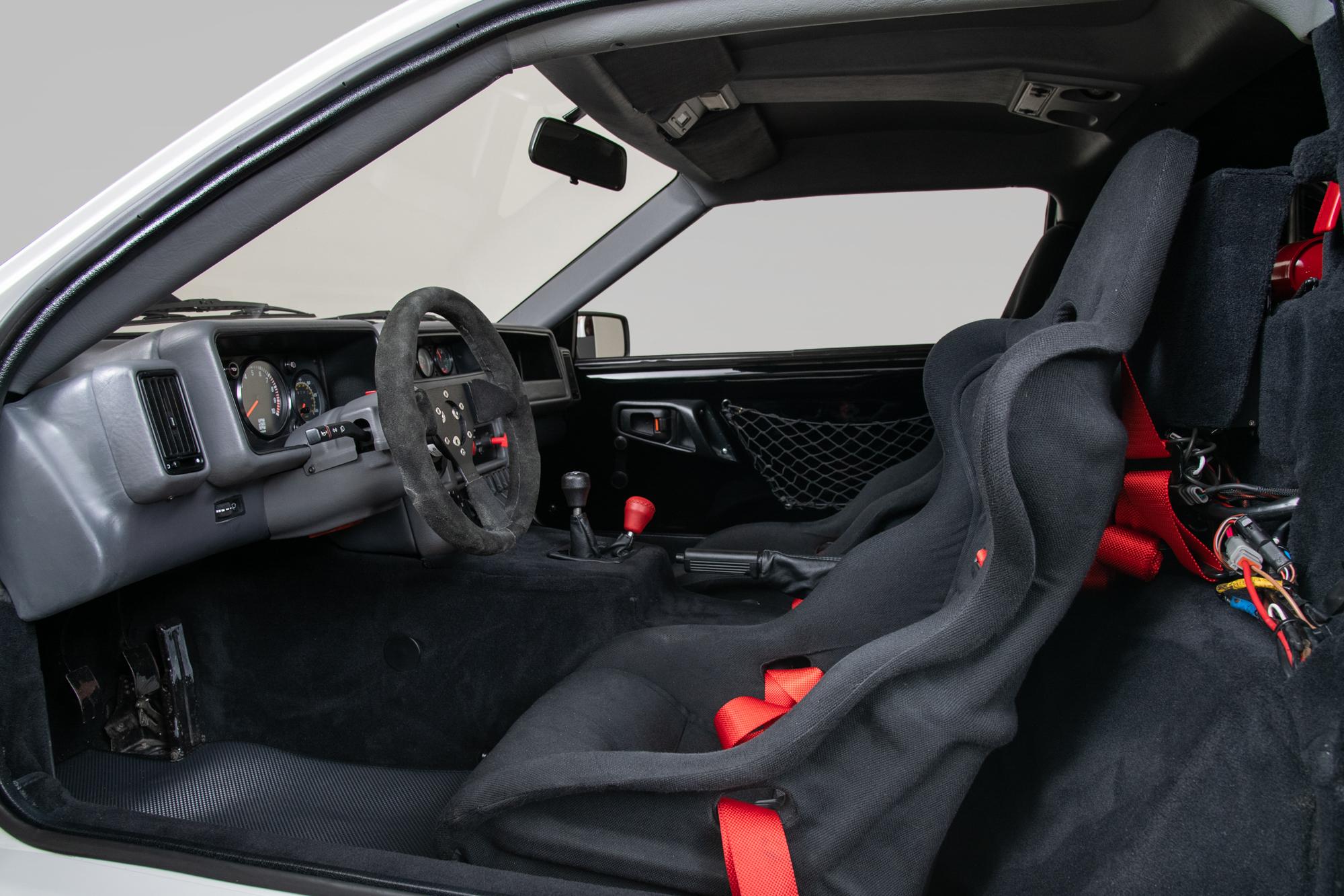 1986 Ford RS200 Evolution, WHITE, VIN SFACXX8J2CGL00106, MILEAGE 10435