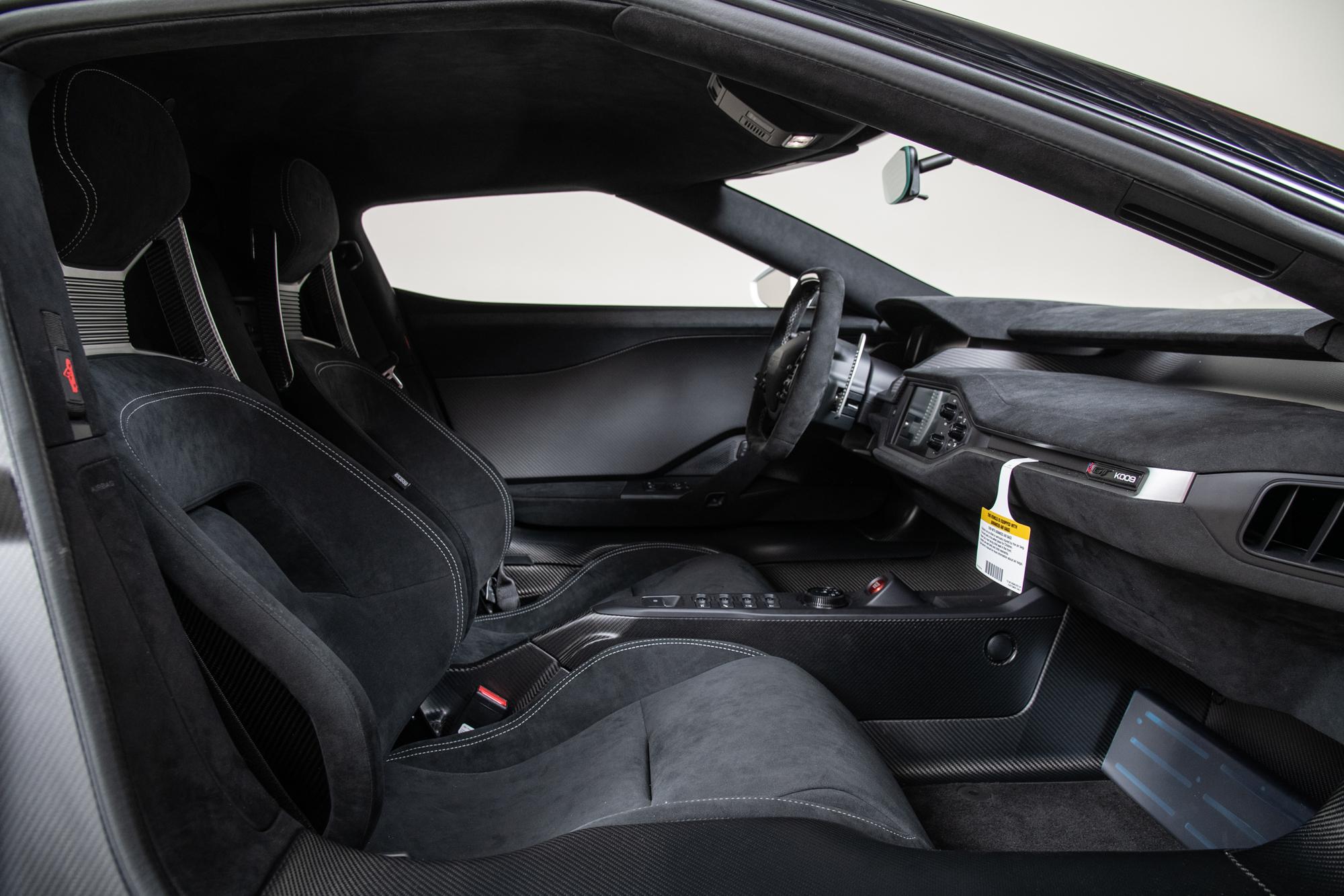 2019 Ford GT , WHITE, VIN 2FAGP9CW4KH200009, MILEAGE 44