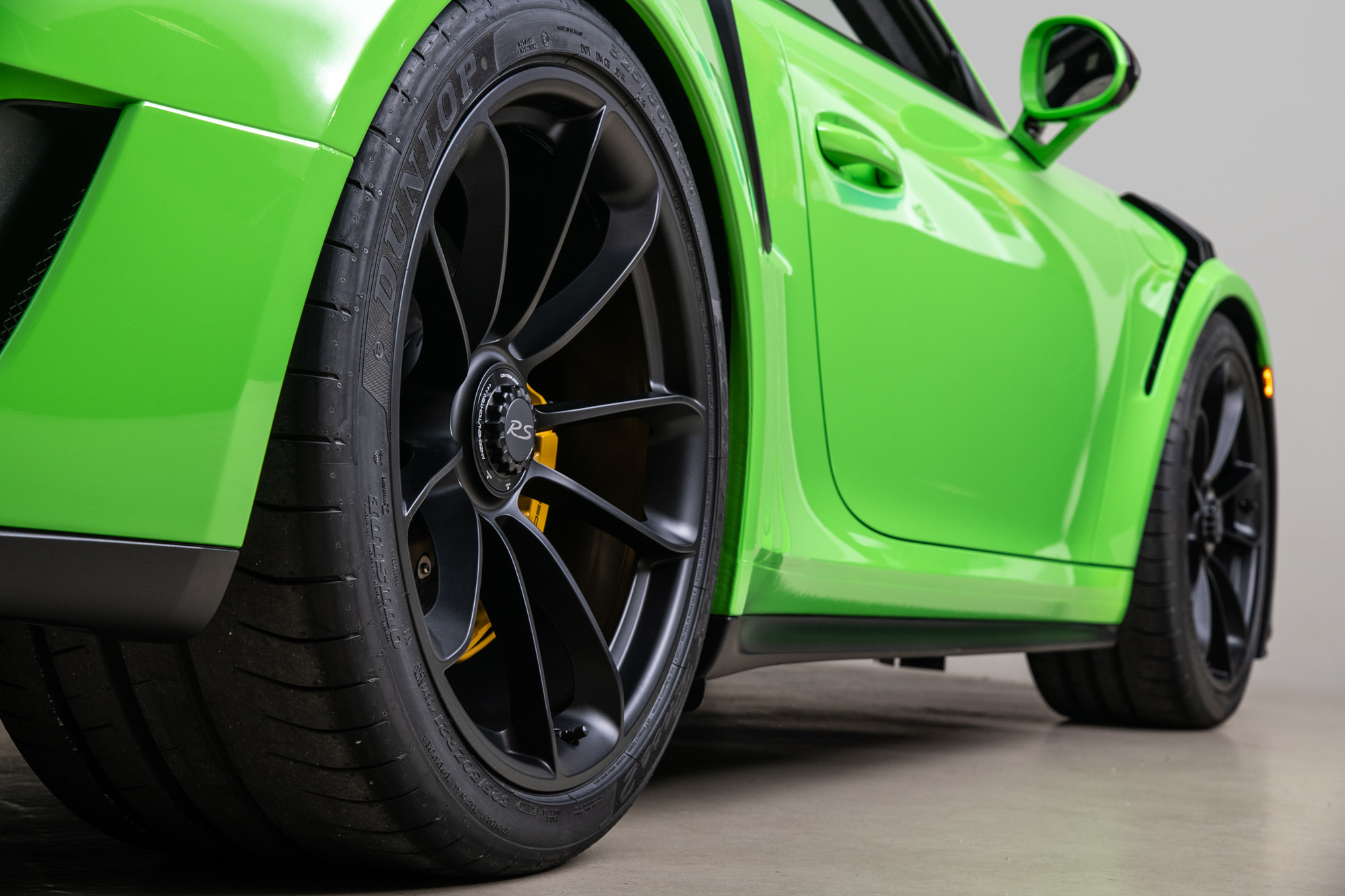 2019 Porsche 911 GT3 RS , LIZARD GREEN, VIN WP0AF2A94KS164564, MILEAGE 15