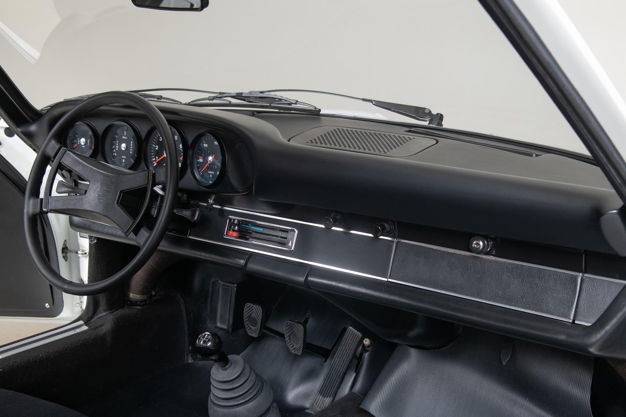 1973 Porsche 911 Carrera RS , GRAND PRIX WHITE, VIN 9113600096, MILEAGE 56998