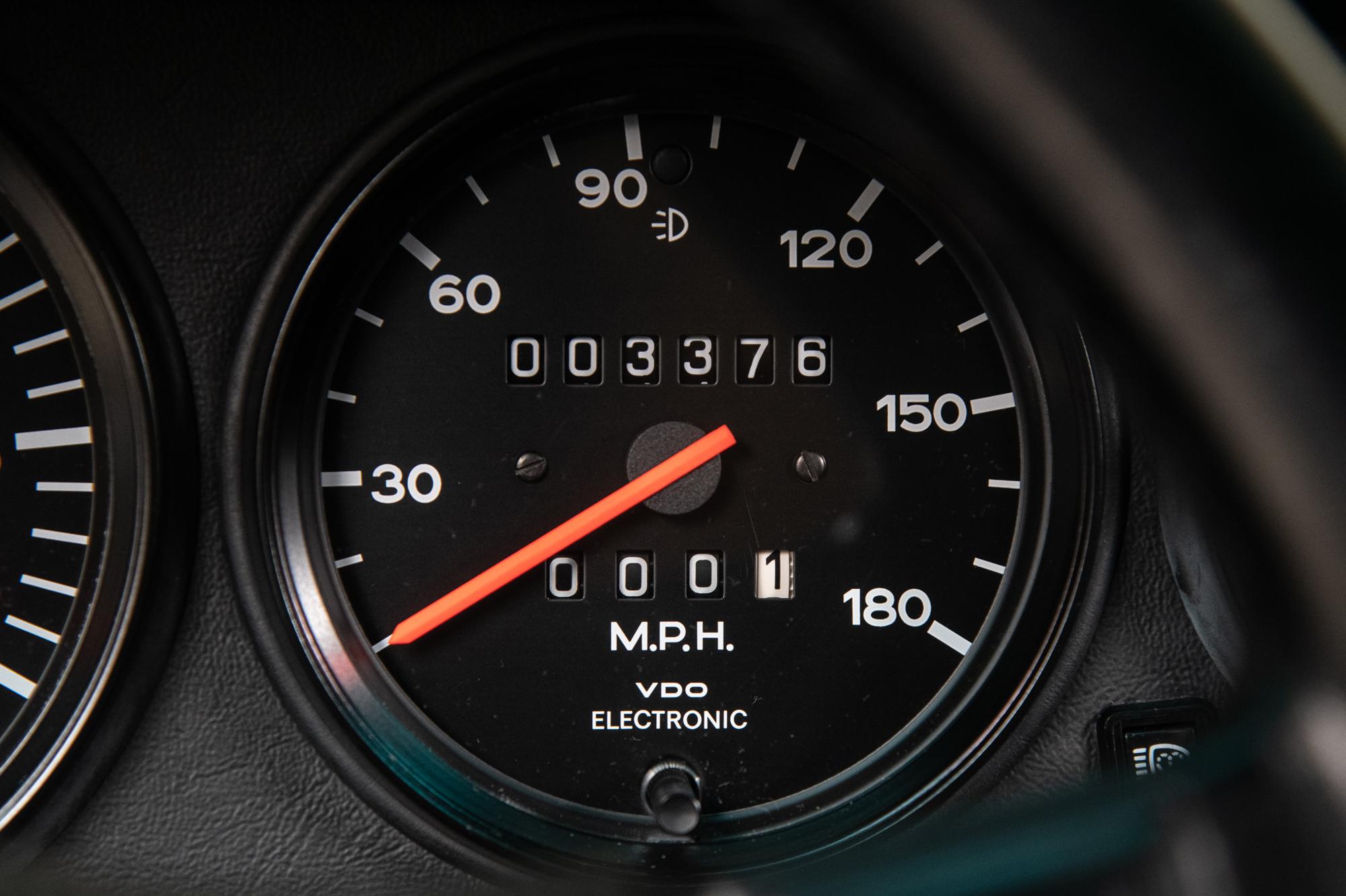 1986 Porsche 911 Turbo Slantnose, WHITE, VIN WP0ZZZ93ZGS000695, MILEAGE 3376