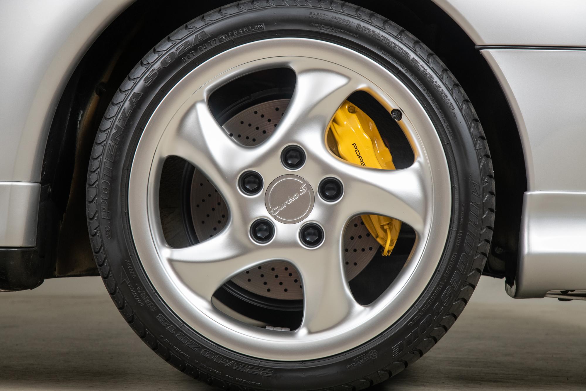 1997 Porsche 911 Turbo S , SILVER, VIN WP0AC2991VS375853, MILEAGE 1416