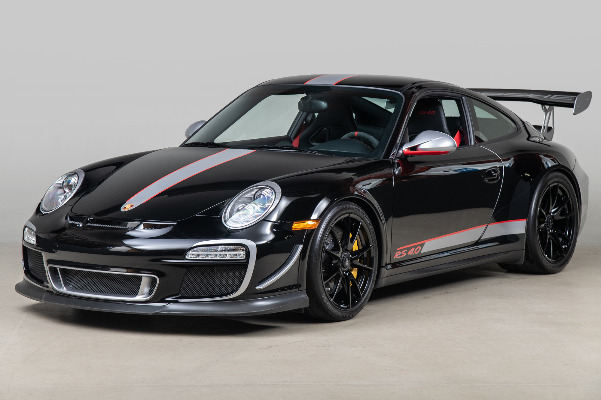 2011 Porsche 911 GT3 RS 4.0 , BLACK, VIN WP0AF2A95BS785652, MILEAGE 3931