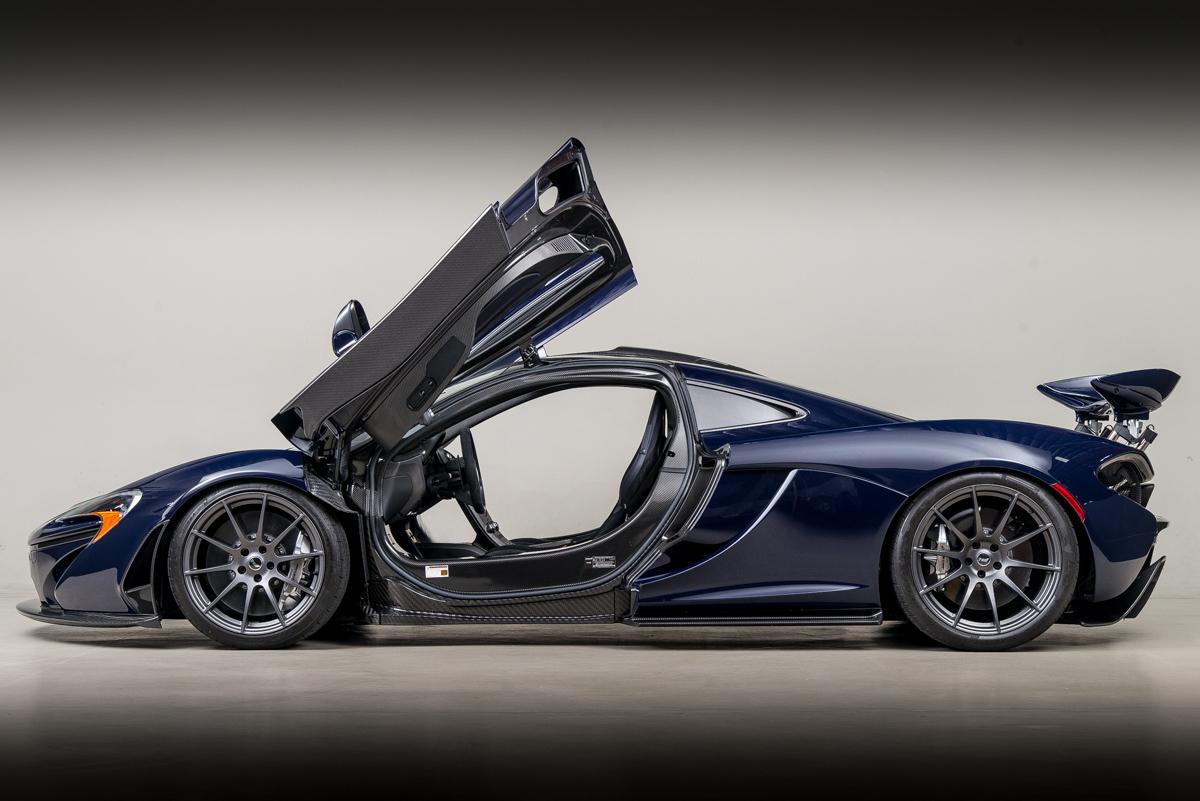 2014 McLaren P1 , CANEPA BLUE, VIN SBM12ABA4EW000105, MILEAGE 1280