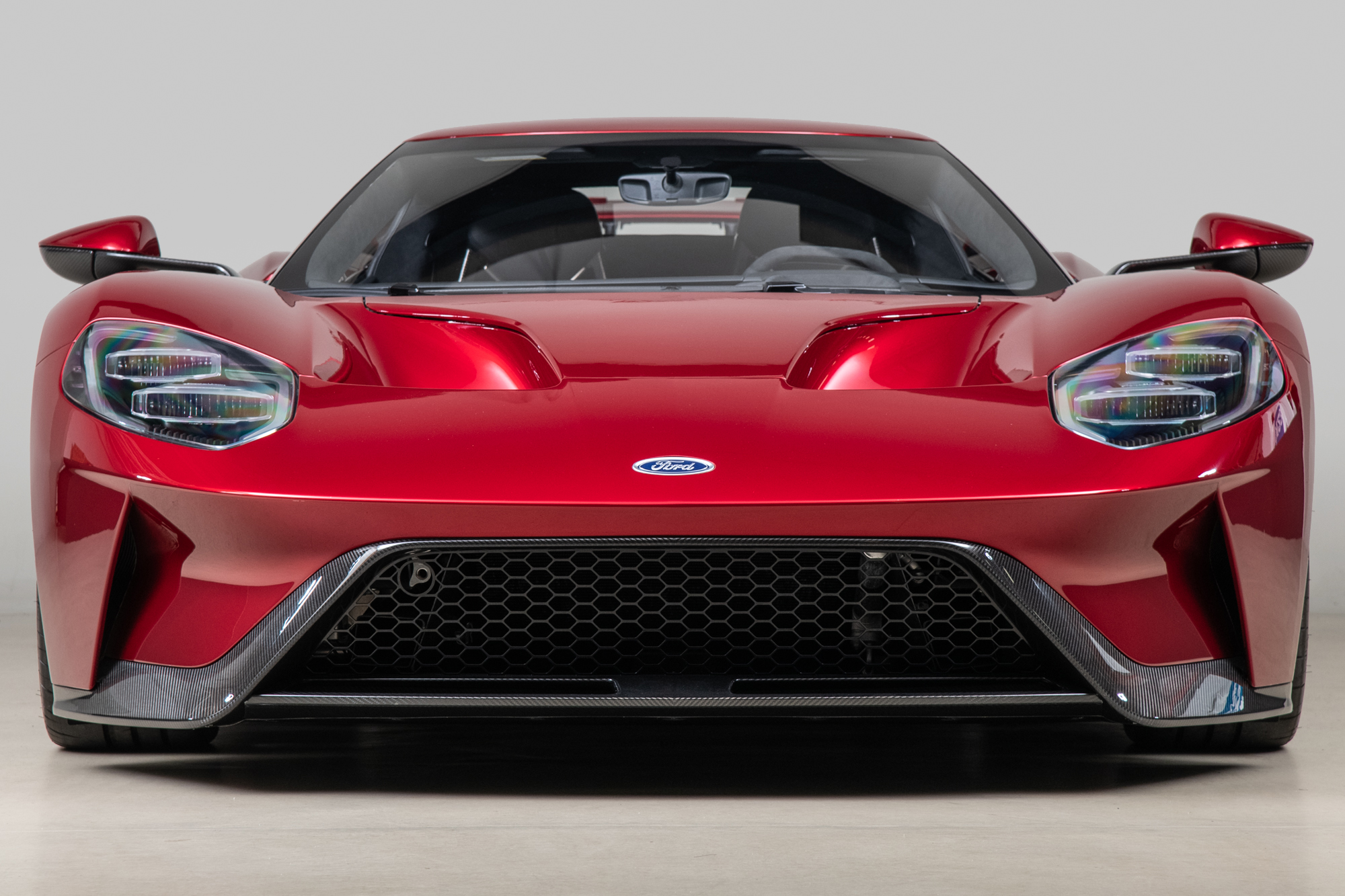 2017 Ford GT , LIQUID RED, VIN 2FAGP9CW8HH200006, MILEAGE 204