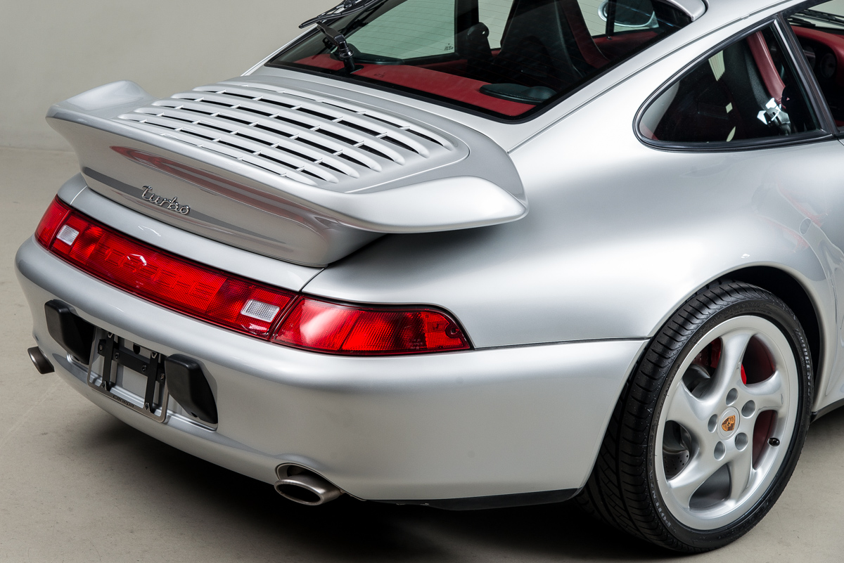 1996 Porsche 911 Turbo , SILVER, VIN WP0AC2993TS375835, MILEAGE 11337