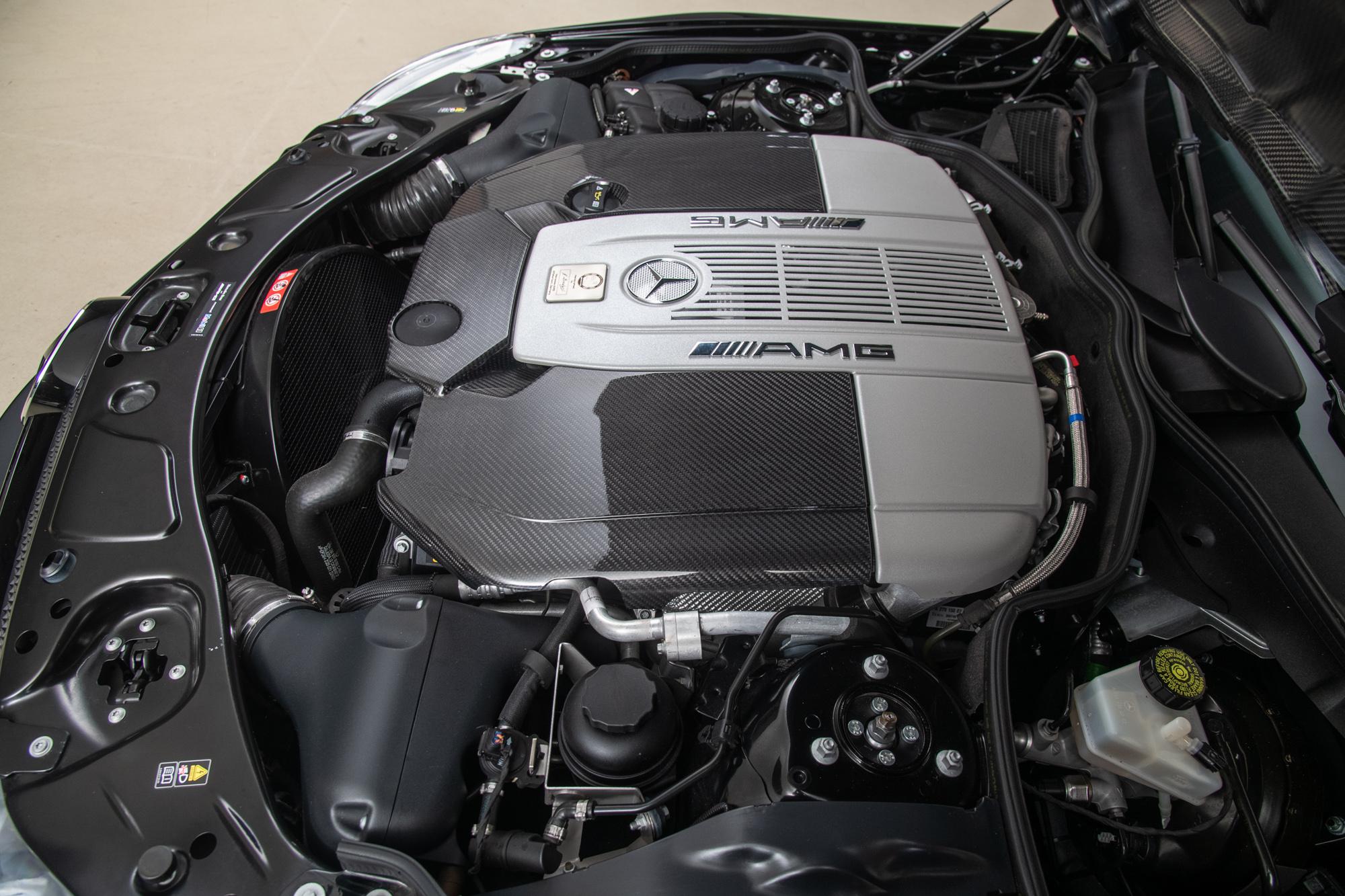 2009 Mercedes-Benz SL65 AMG Black Series , BLACK, VIN WDBSK79F39F158215, MILEAGE 6838