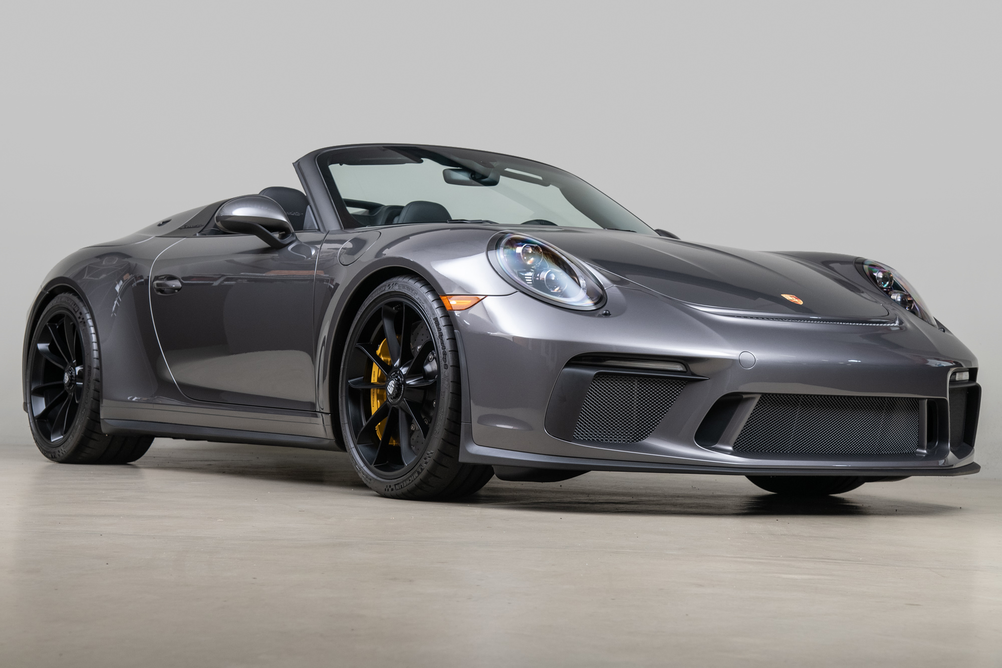 2019 Porsche 911 Speedster , AGATE GRAY METALLIC, VIN WP0CF2A99KS172202, MILEAGE 316