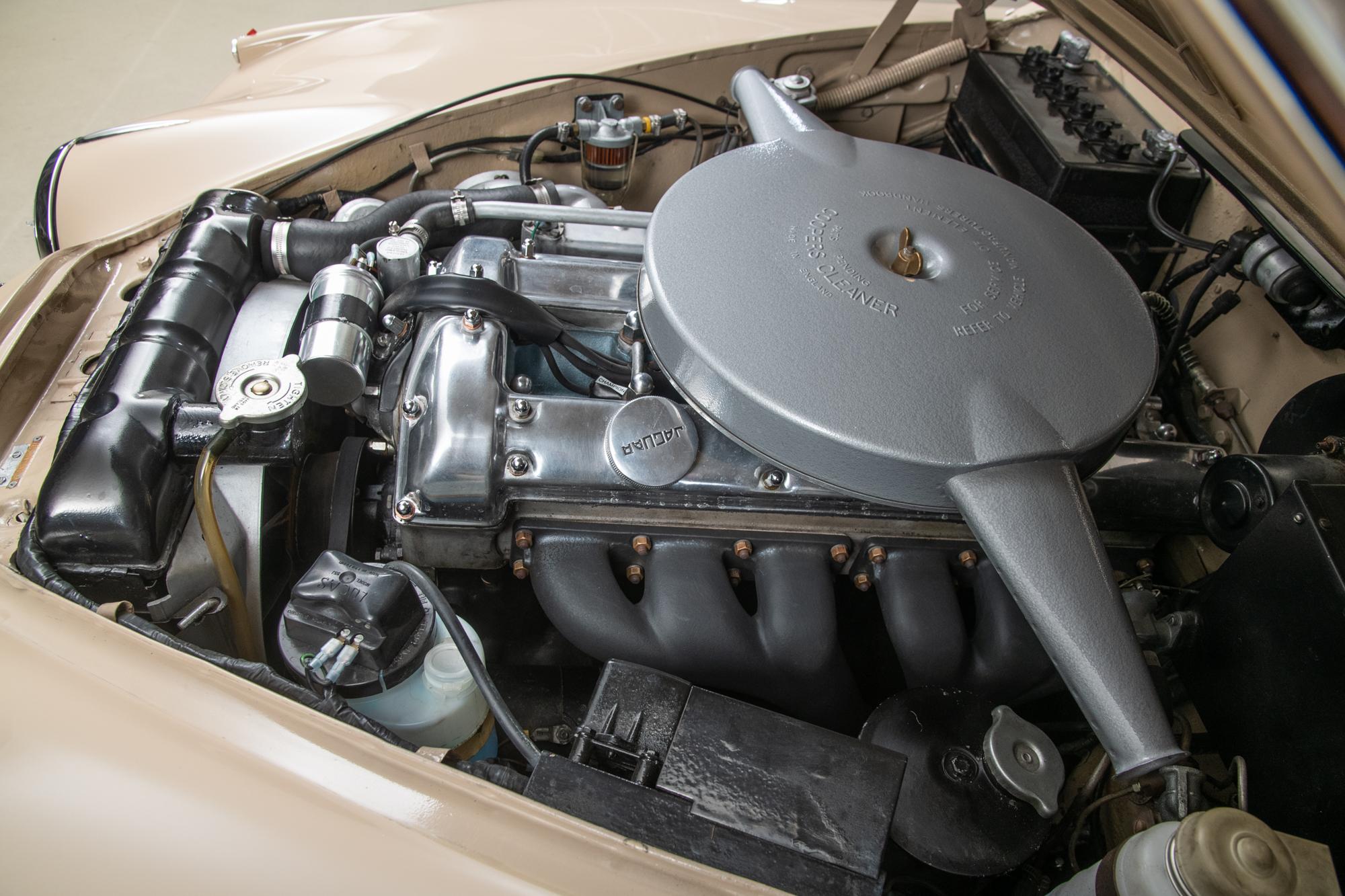 1967 Jaguar 340 , HONEY BEIGE, VIN J67181330, MILEAGE 28297