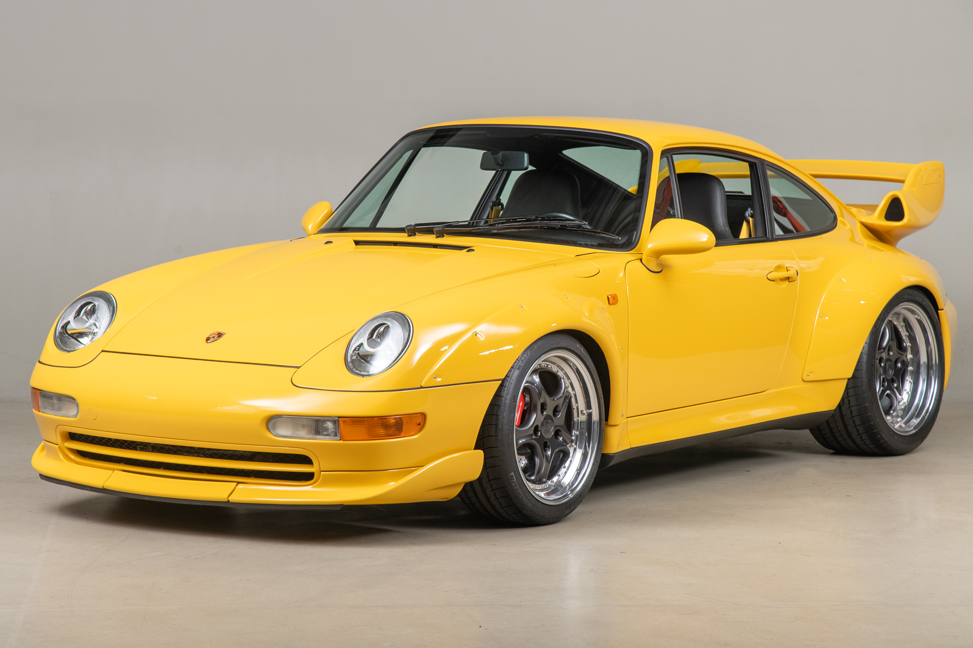 1996 Porsche 911 GT2 , SPEED YELLOW, VIN WP0ZZZ99ZTS392194, MILEAGE 26321