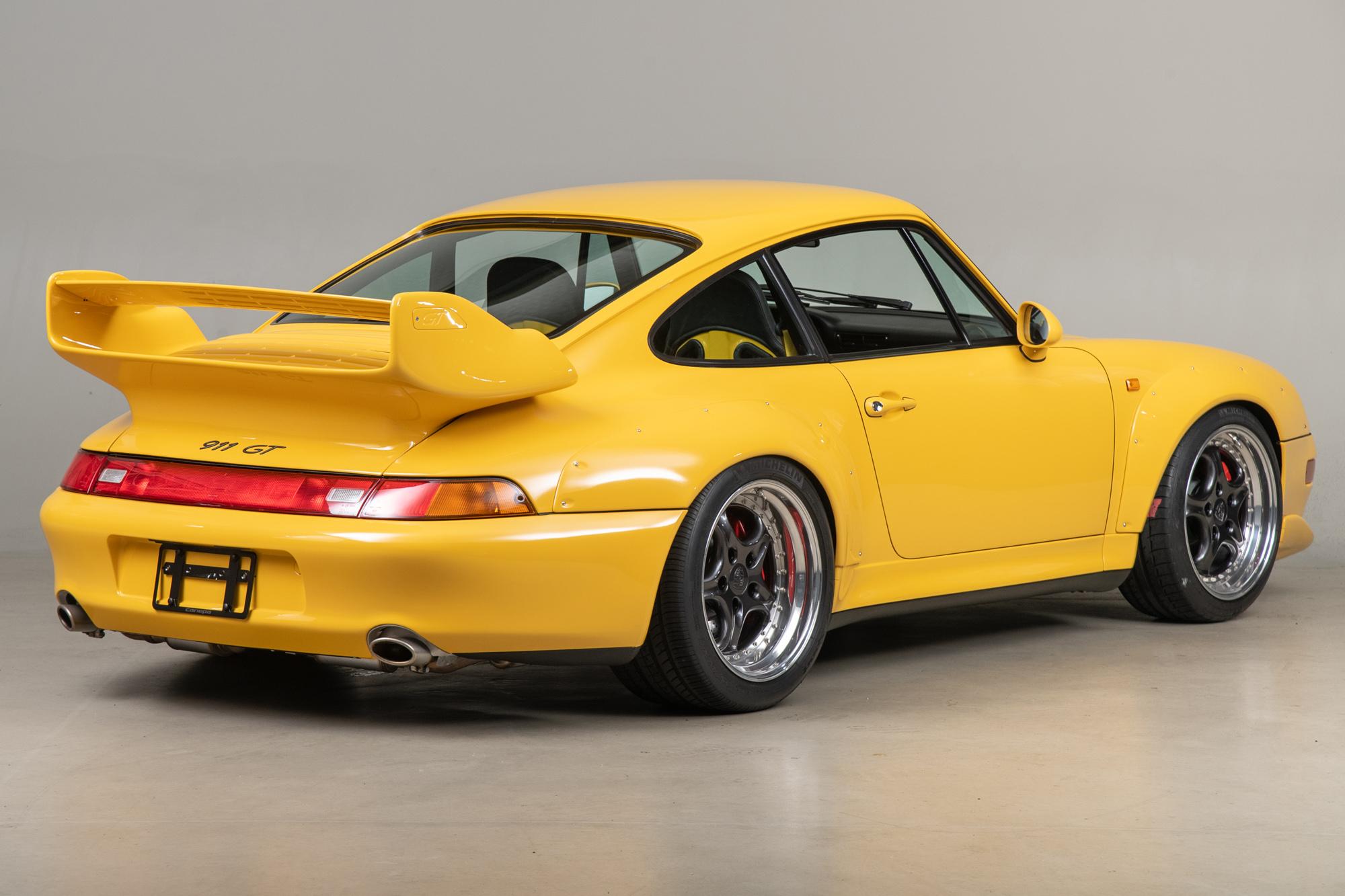 1996 Porsche 911 GT2 , SPEED YELLOW, VIN WP0ZZZ99ZTS392194, MILEAGE 26321