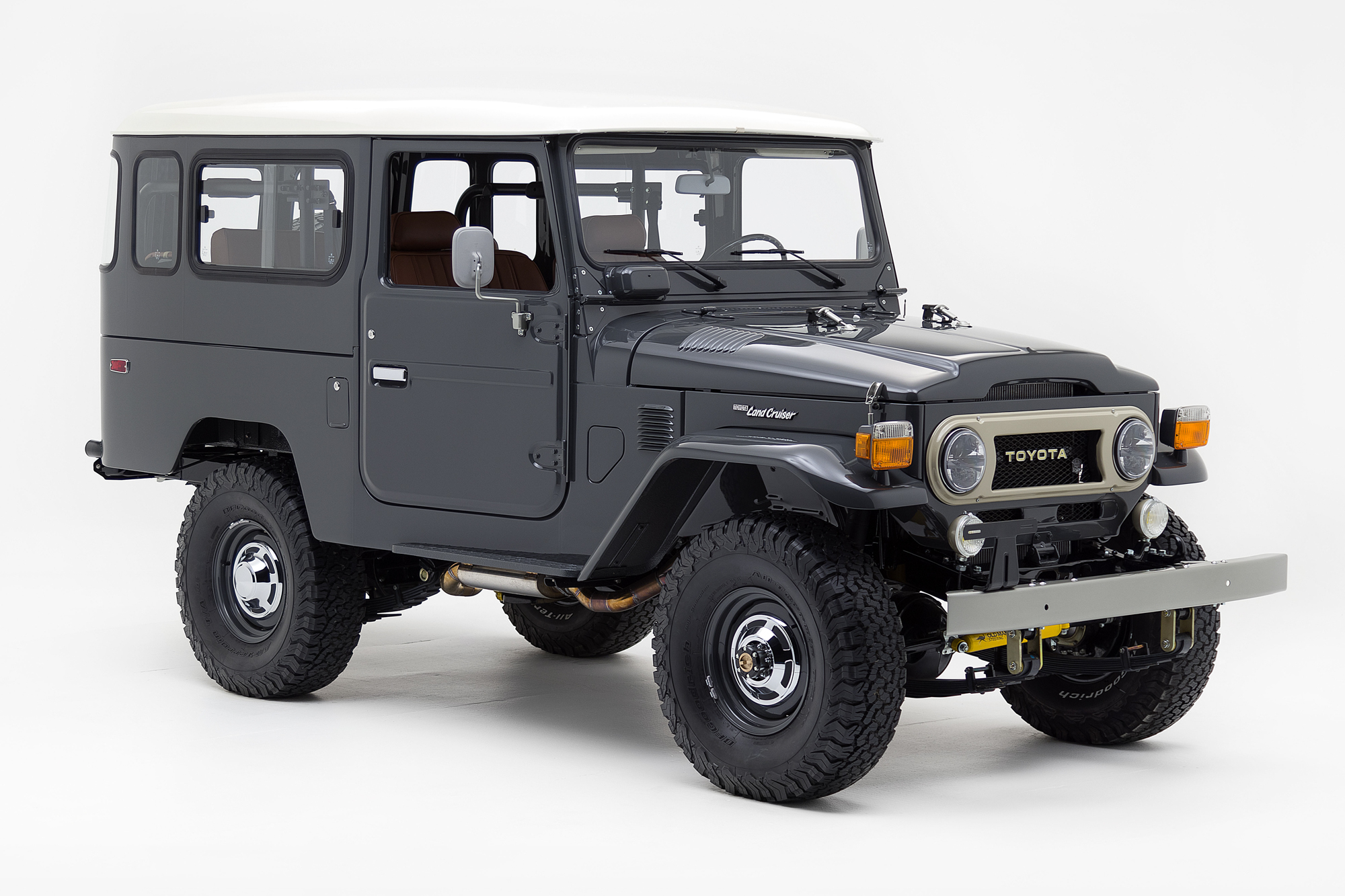 1978 Toyota Land Cruiser , SLATE GREY, VIN FJ4352930, MILEAGE 950