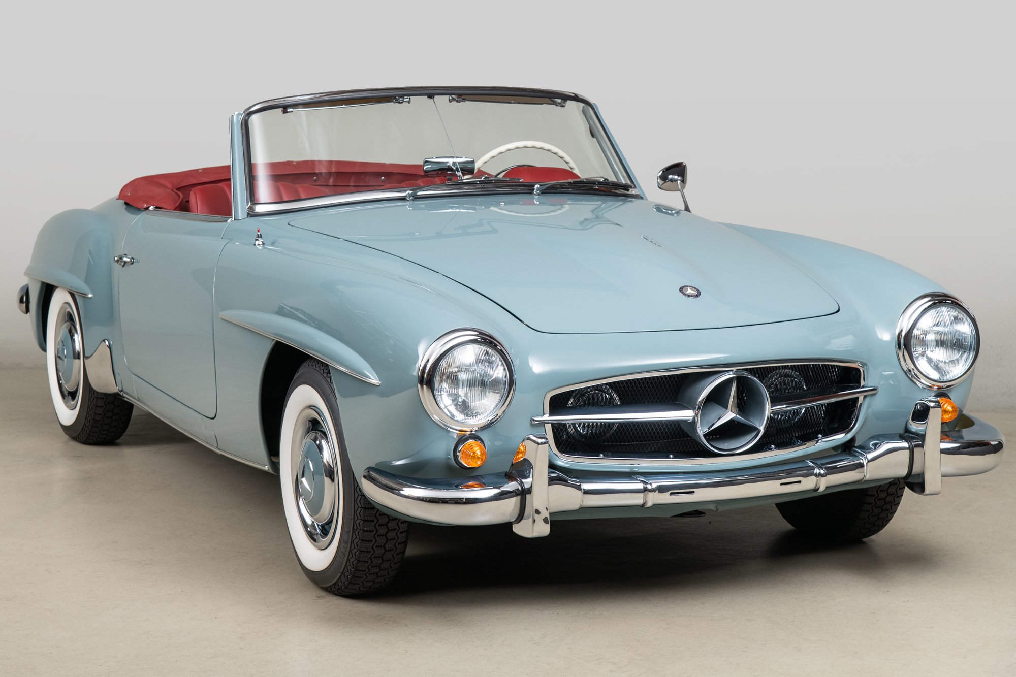 1959 Mercedes-Benz 190SL , BLUE GRAY, VIN 121042-10-9501933, MILEAGE 2407