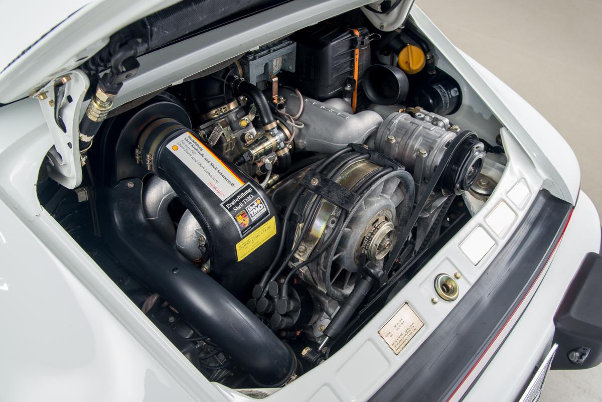 1989 Porsche 911 Speedster, GRAND PRIX WHITE, VIN WP0EB0917KS173310, MILEAGE 22675