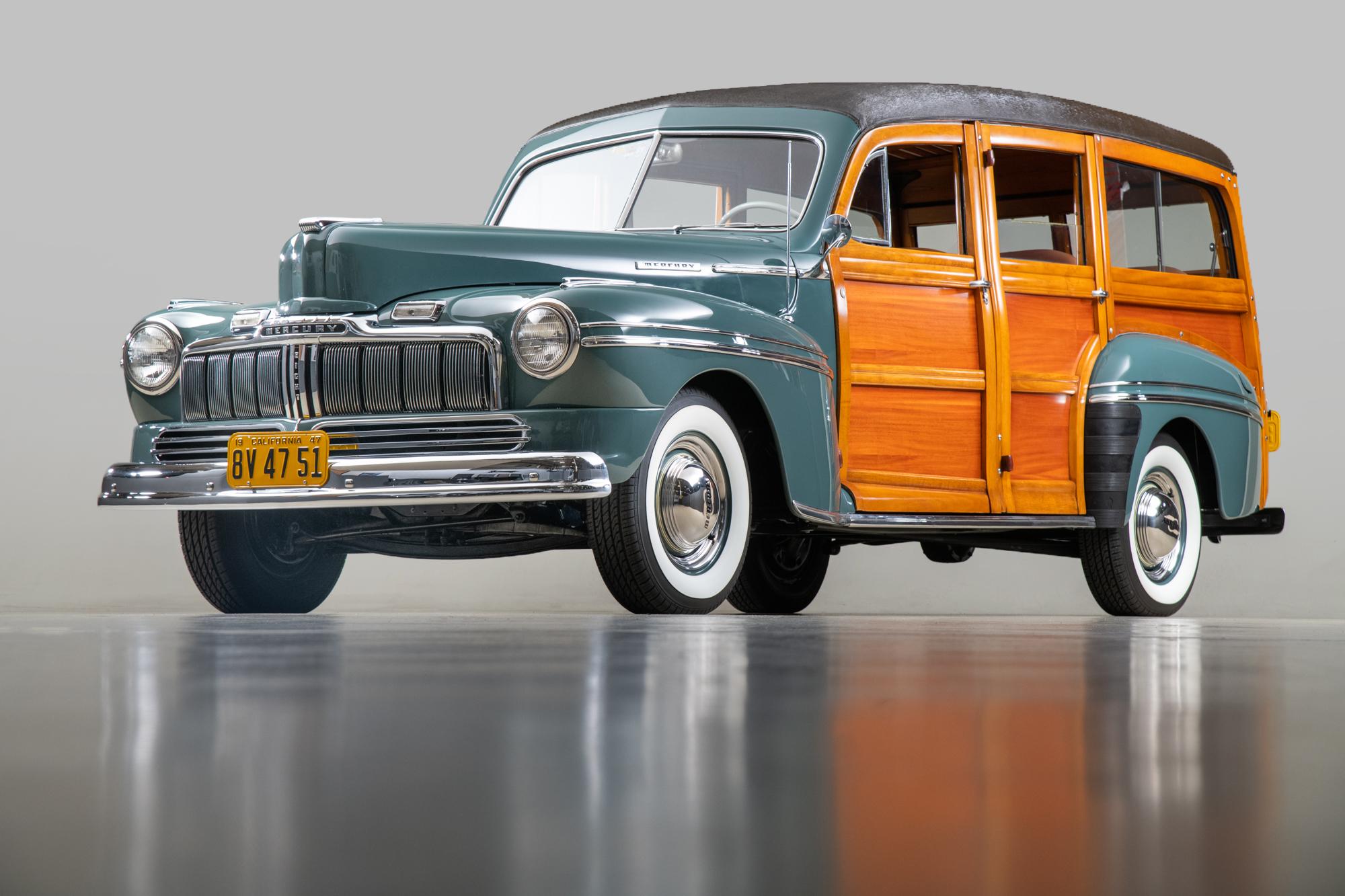 1947 Mercury Series 79M Woodie , CLOUDMIST GRAY, VIN 799A1942101, MILEAGE 48518