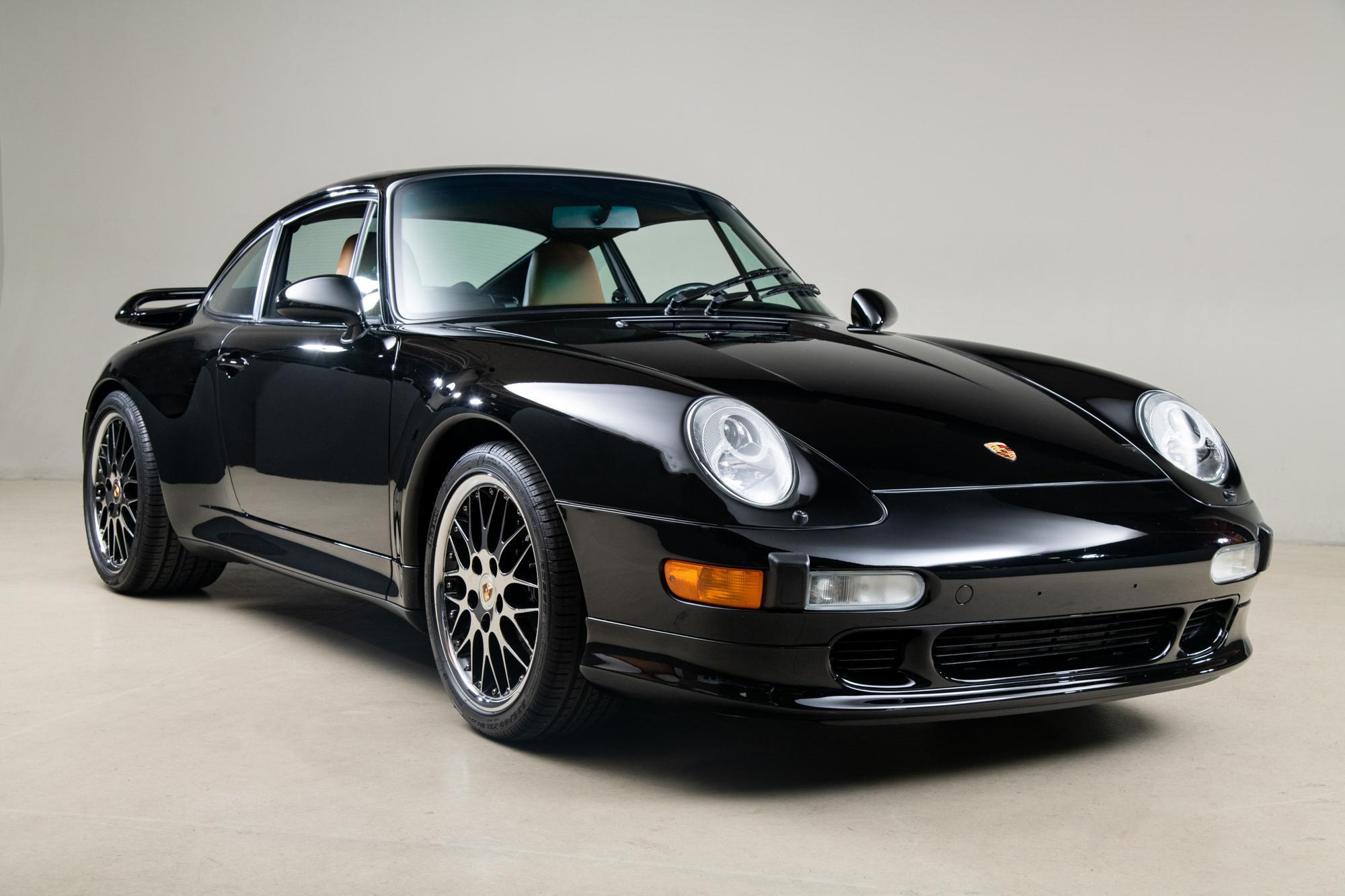 1998 Porsche 911 Carrera S, BLACK, VIN WP0AA2993WS320750, MILEAGE 19895