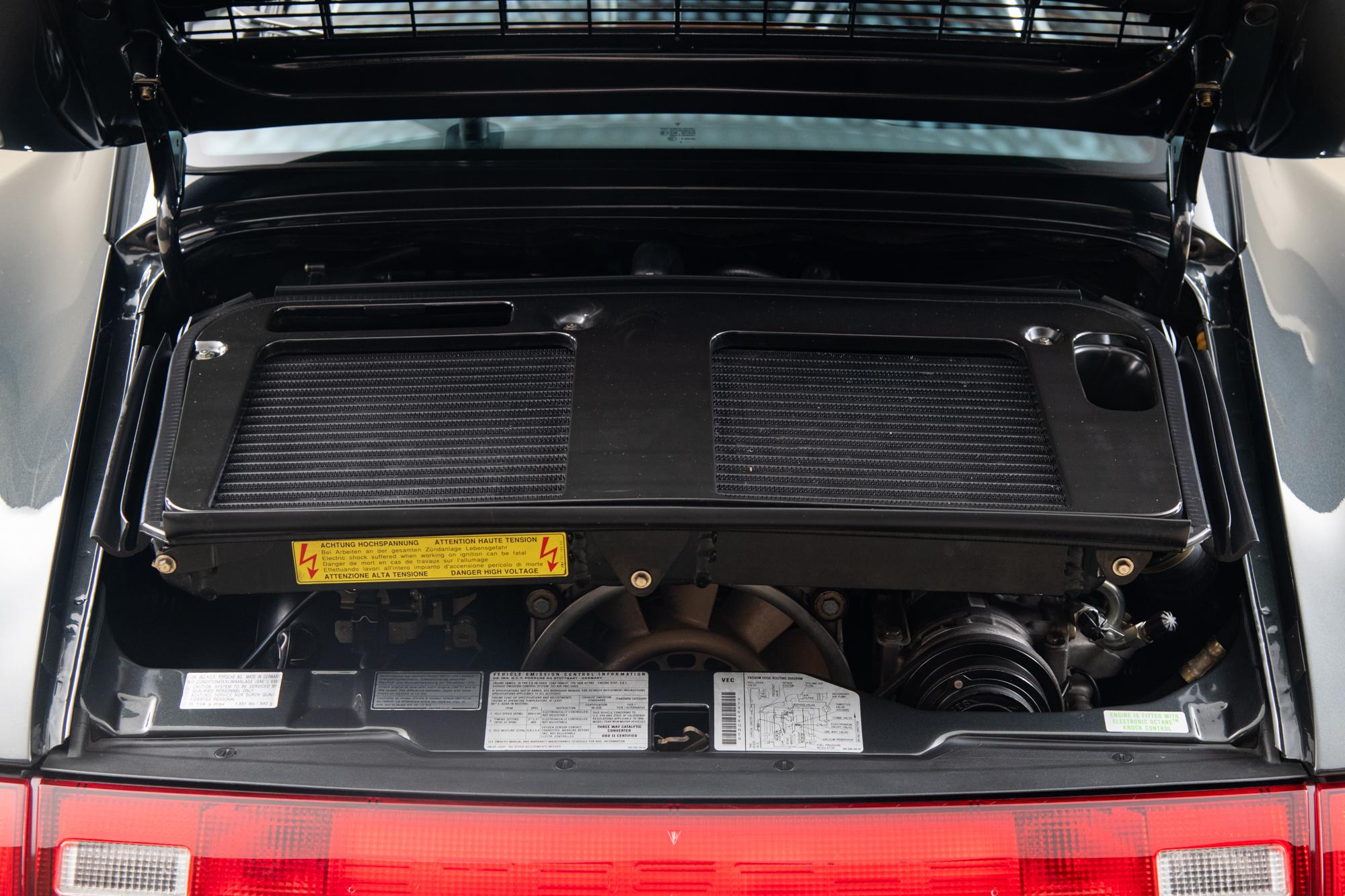 1996 Porsche 993 Turbo , DARK GRAY METALLIC, VIN WP0AC2991TS376188, MILEAGE 15091
