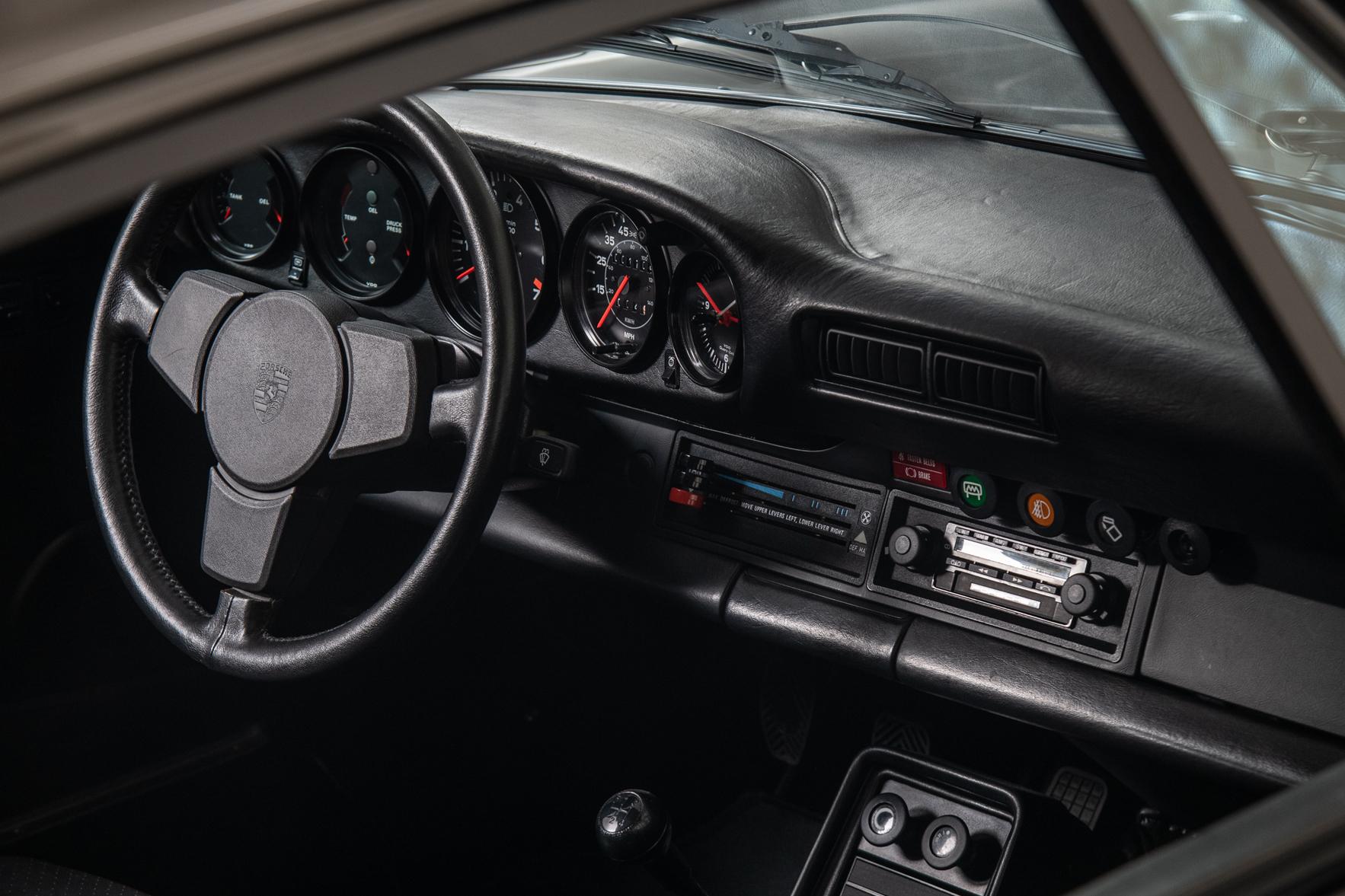 1979 Porsche 930 Turbo , ANTHRACITE GRAY METALLIC, VIN 9309800960, MILEAGE 1743