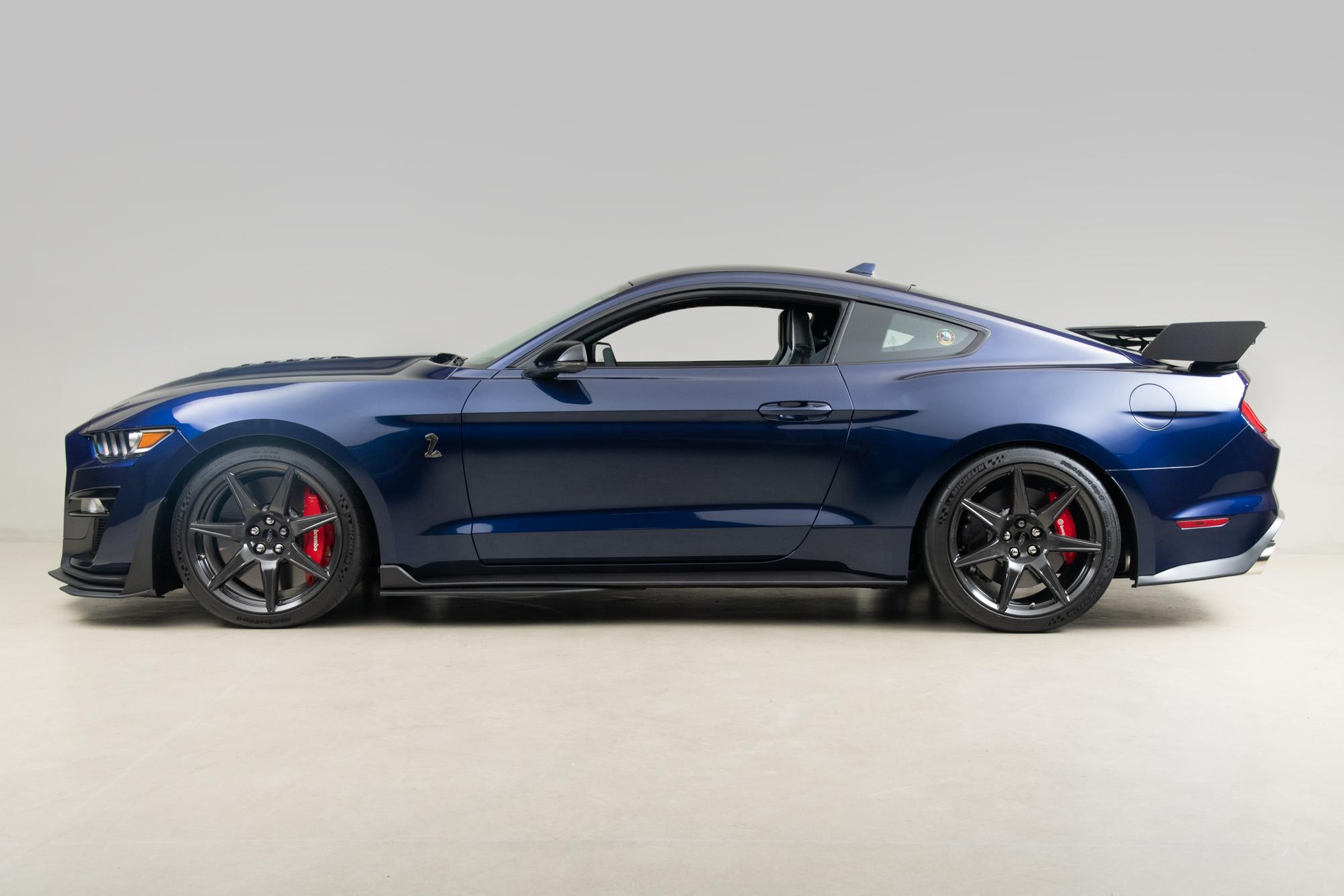 2020 Shelby GT500 , KONA BLUE, VIN 1FA6P8SJ1L5501731, MILEAGE 2825