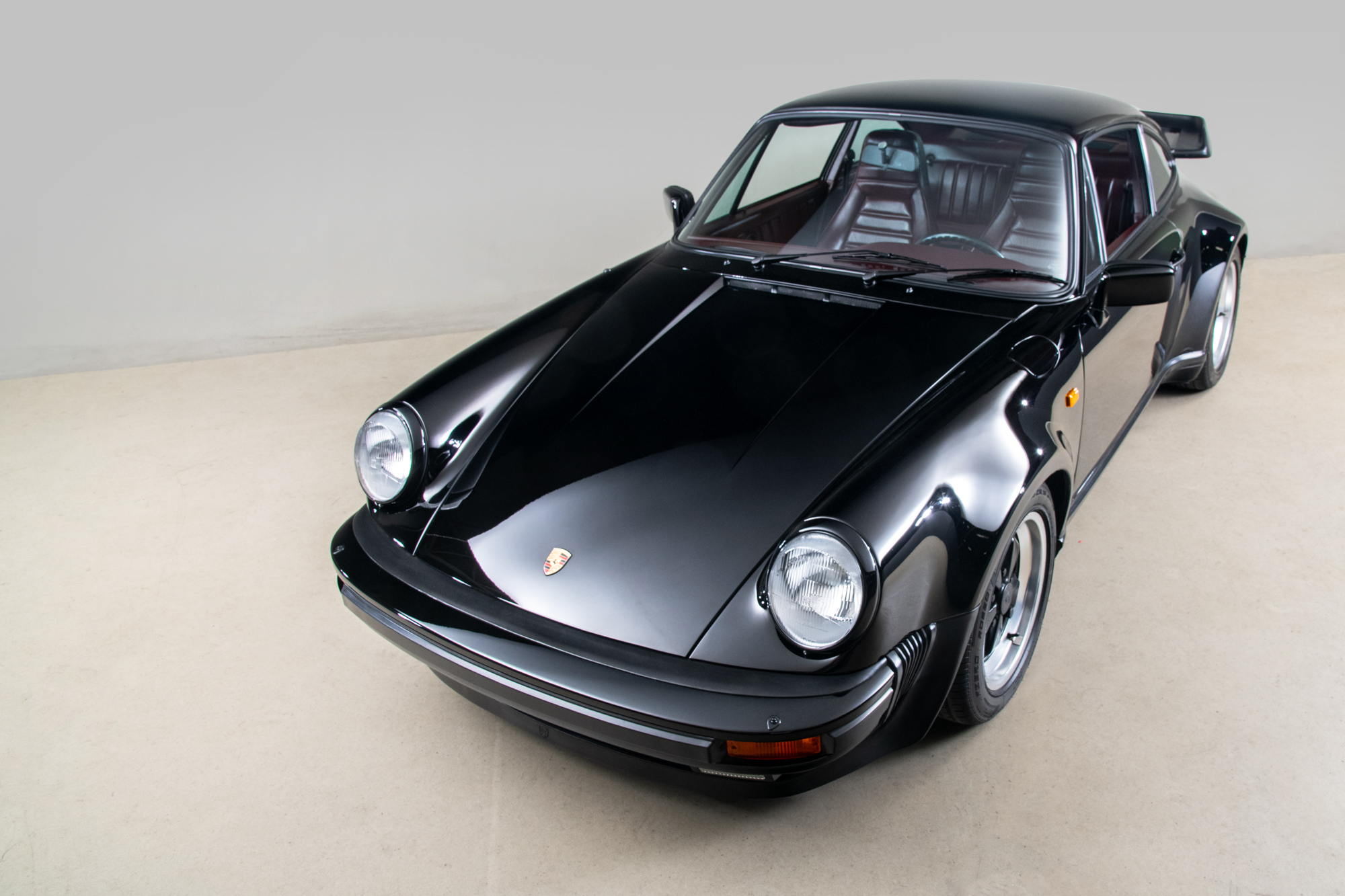 1984 Porsche 930 Turbo , BLACK, VIN WP0ZZZ93ZES000496, MILEAGE 4290