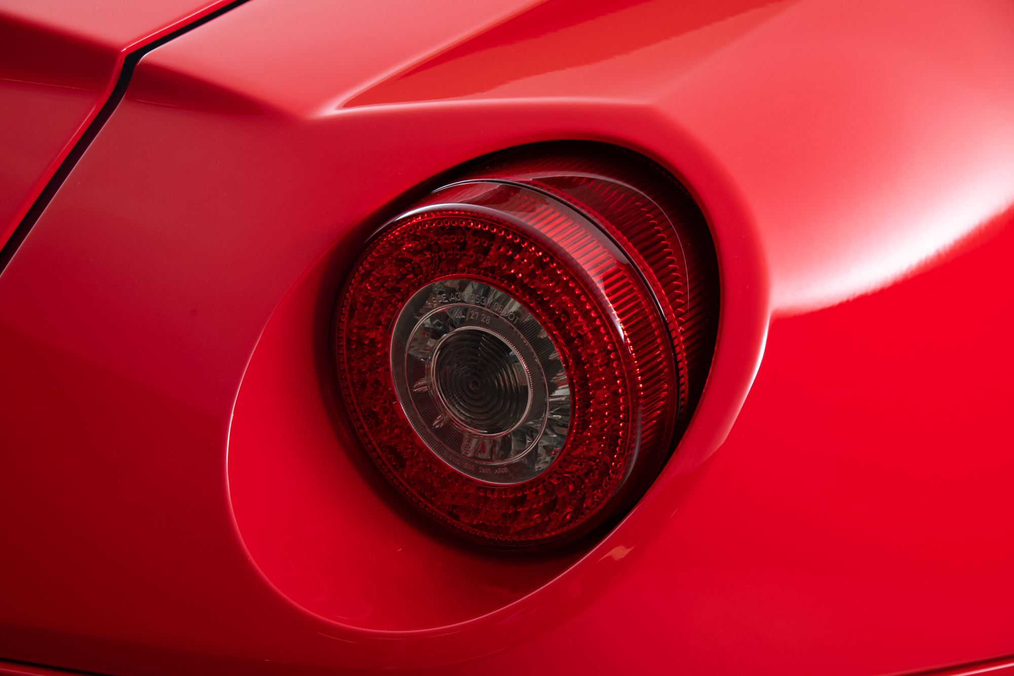 2007 Ferrari 599 GTB , RED, VIN ZFFFC60A870155095, MILEAGE 3522