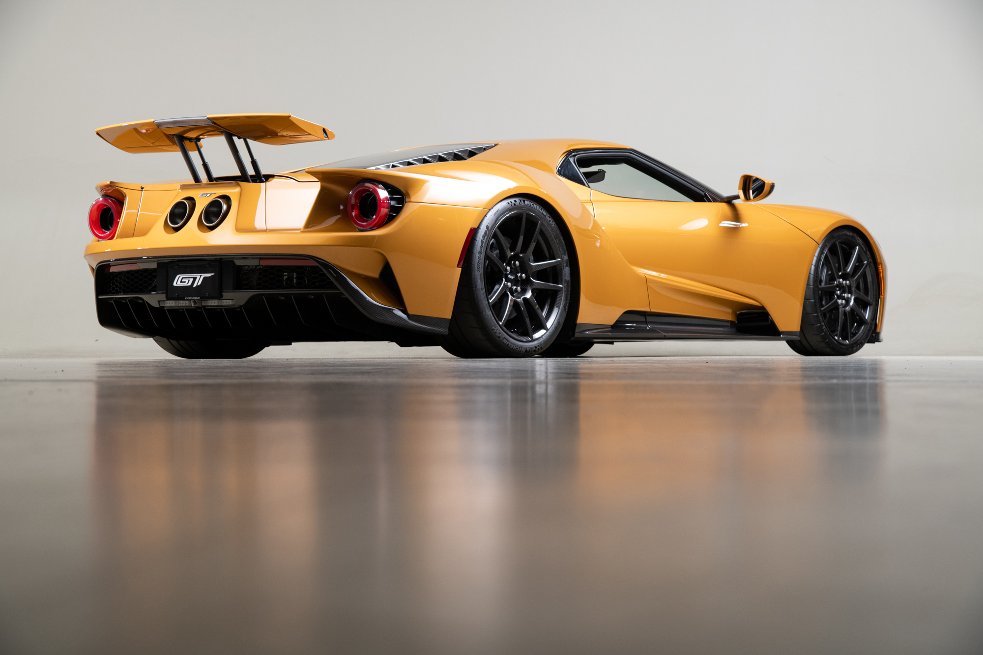 2019 Ford GT , GOLD, VIN 2FAGP9CW8KH200014, MILEAGE 8198