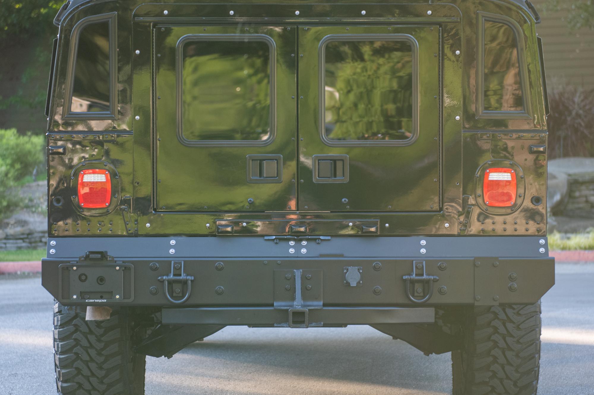 2006 Hummer H1 Alpha , BLACK, VIN 137PH84376E218896, MILEAGE 33504