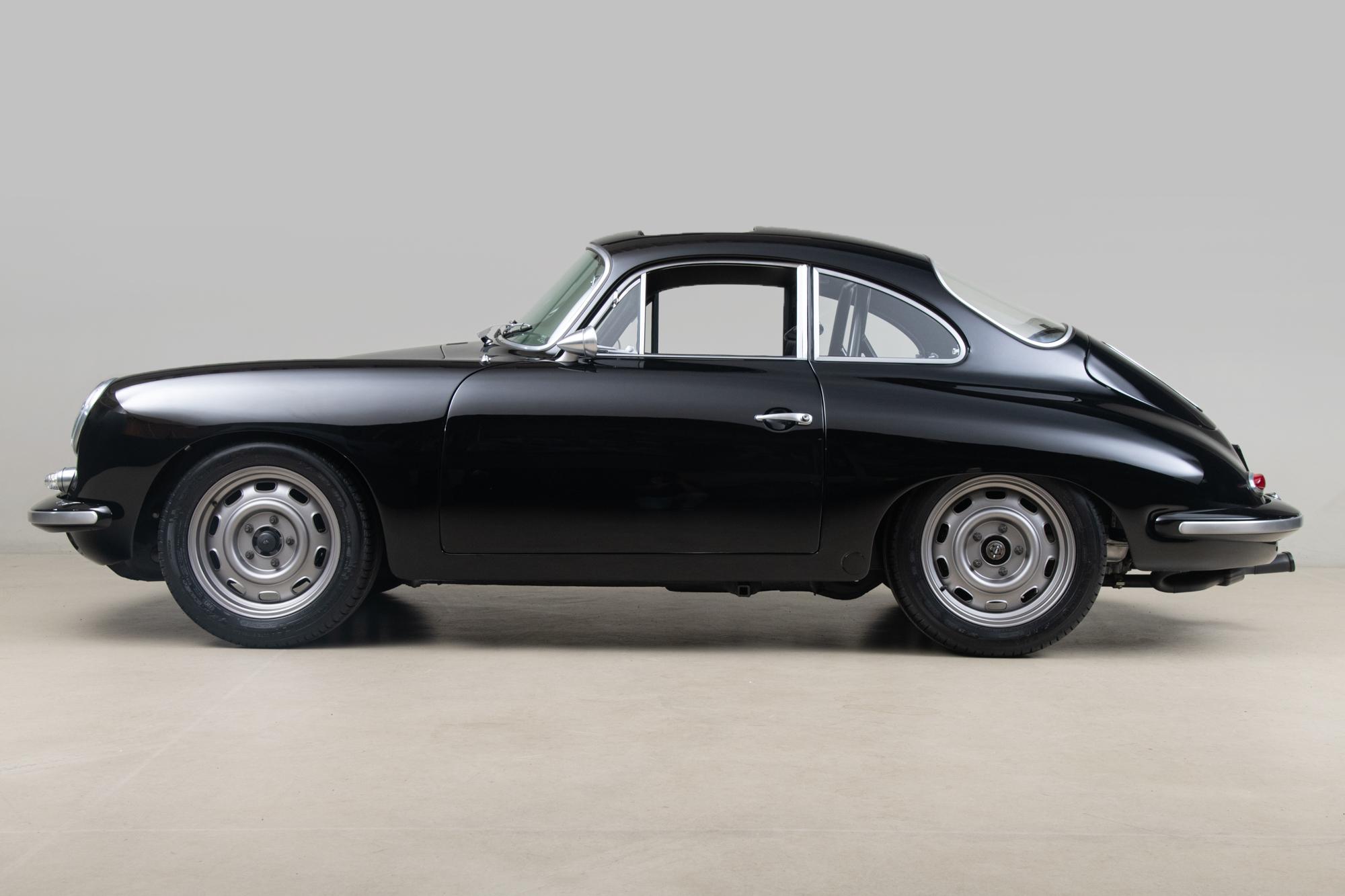 1963 Porsche 356B Outlaw, BLACK, VIN 121562, MILEAGE 6437
